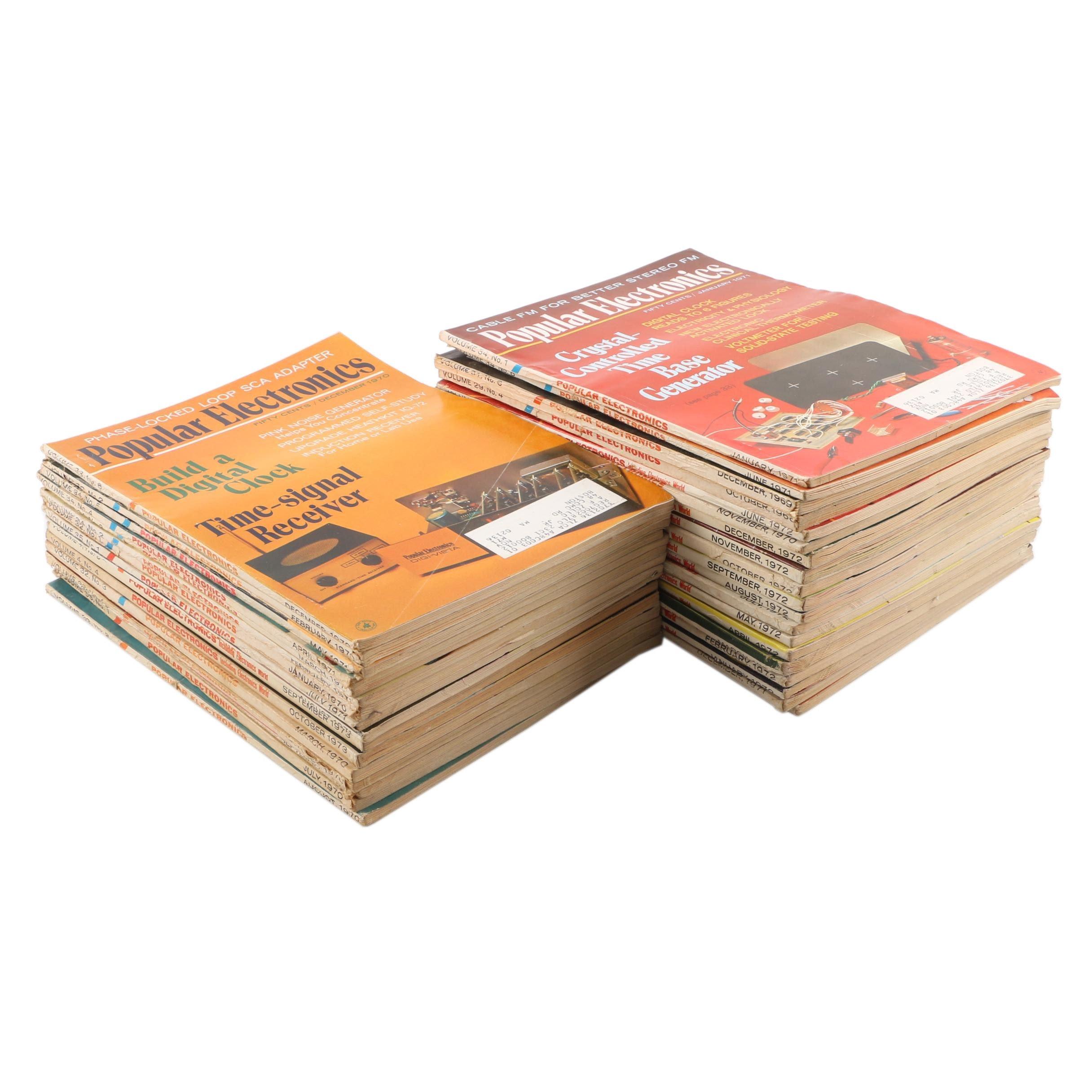 "1970s ""Popular Electronics"" Magazines"