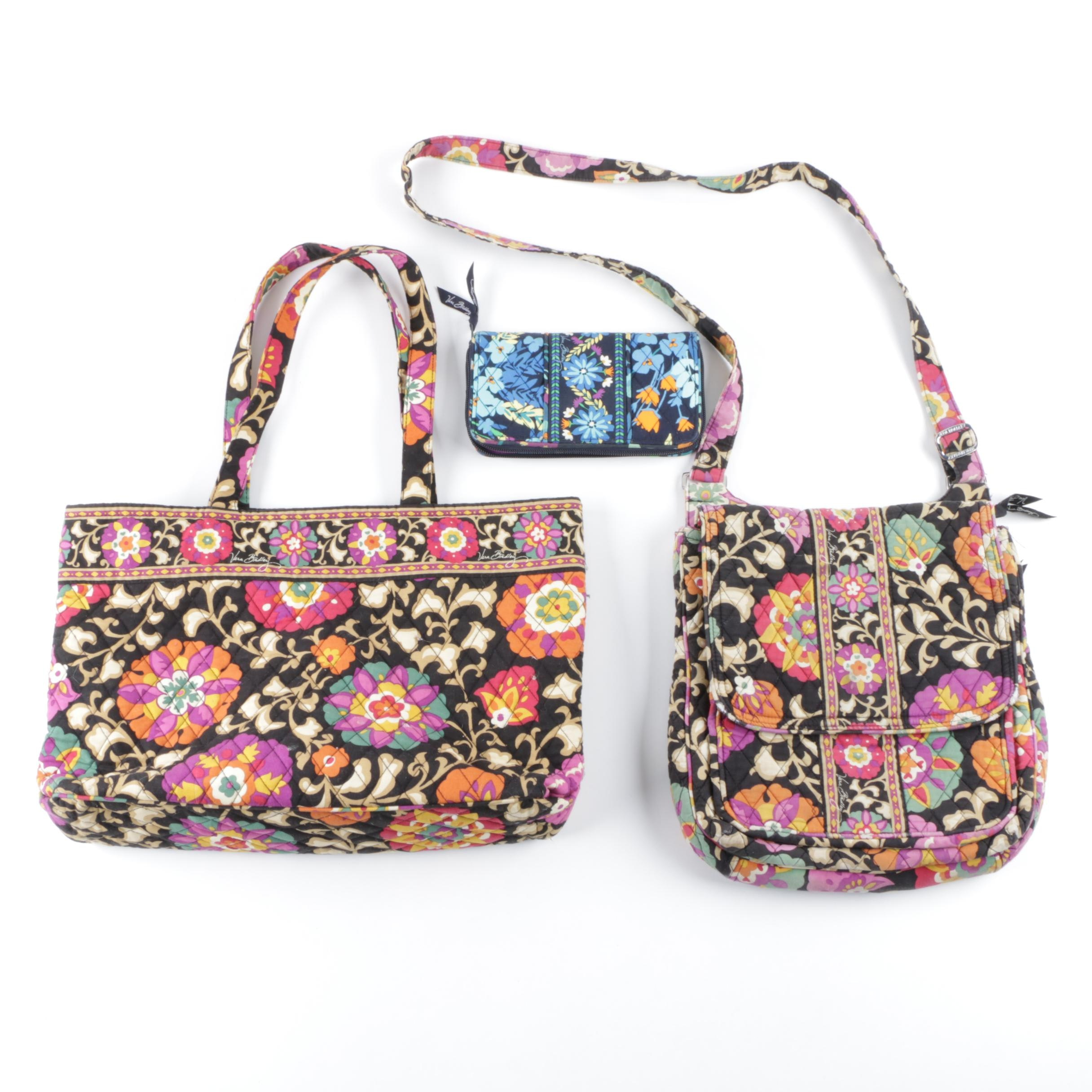 "Vera Bradley ""Suzani"" Handbags and ""Midnight Blues"" Clutch"