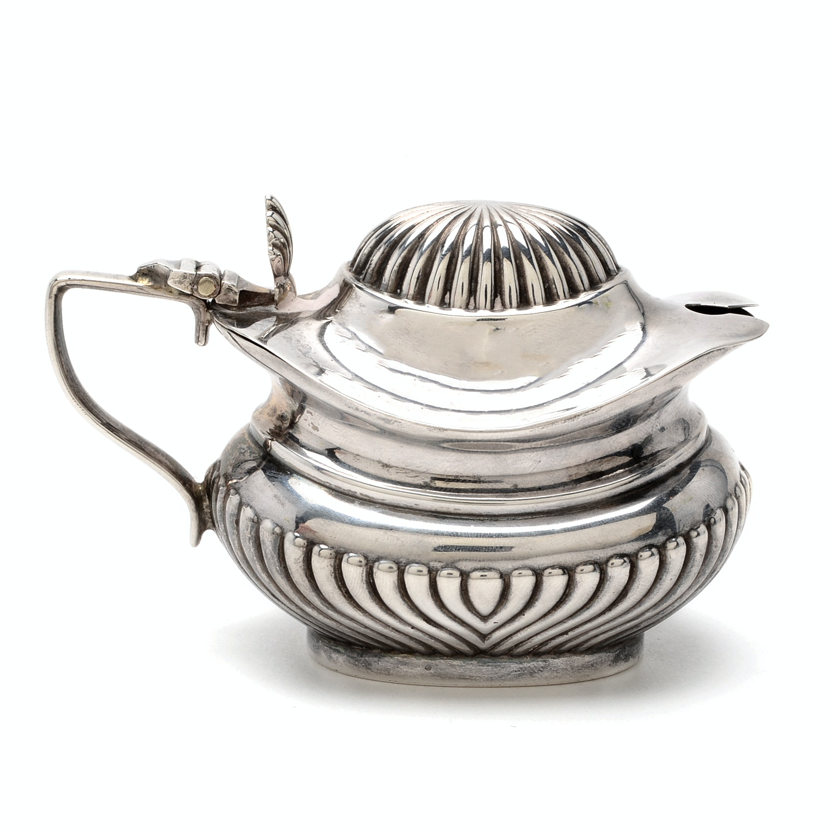 1920 Chester Sterling Silver Mustard Pot