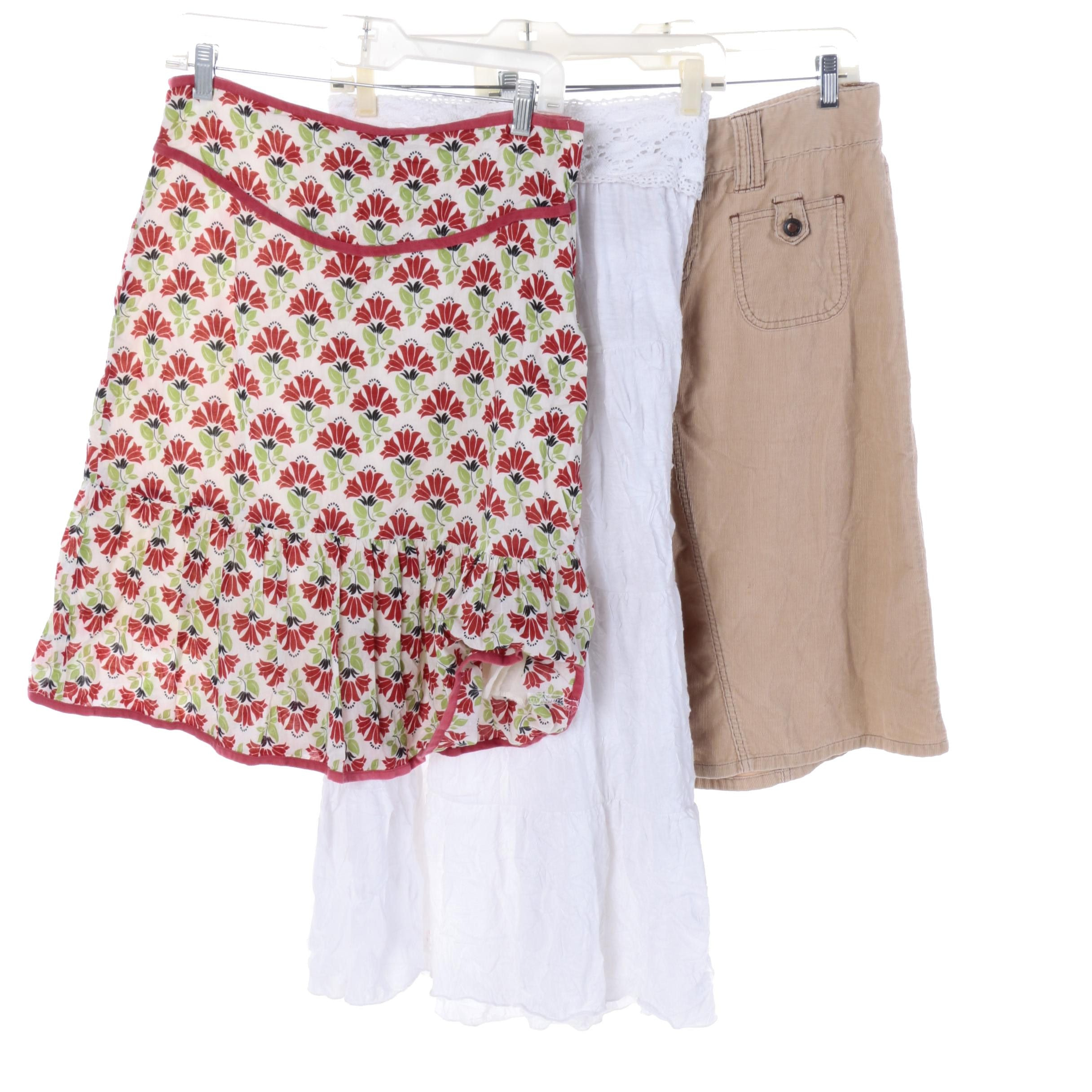 Lily White and Assorted Skirts
