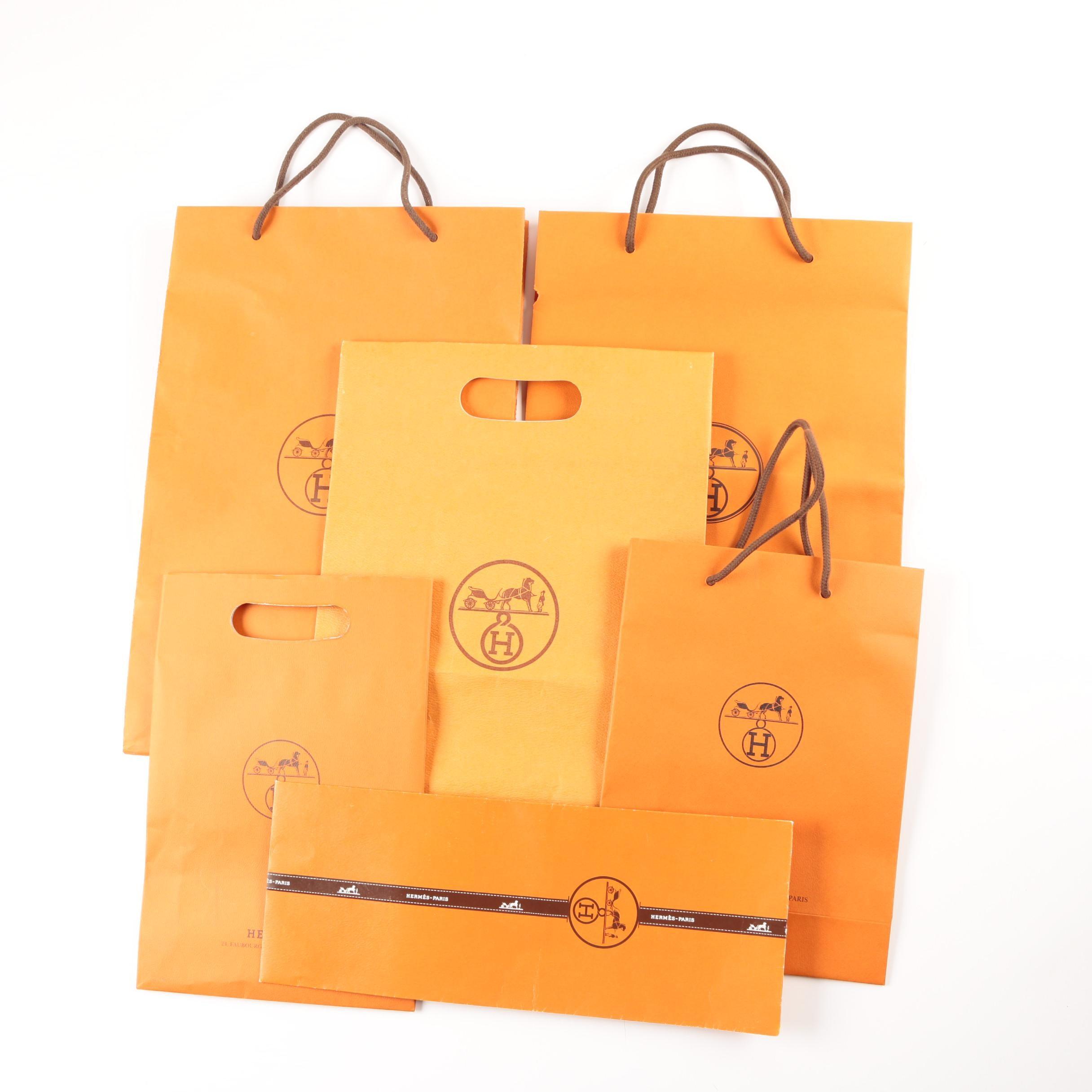 Hermès Shopping Bags