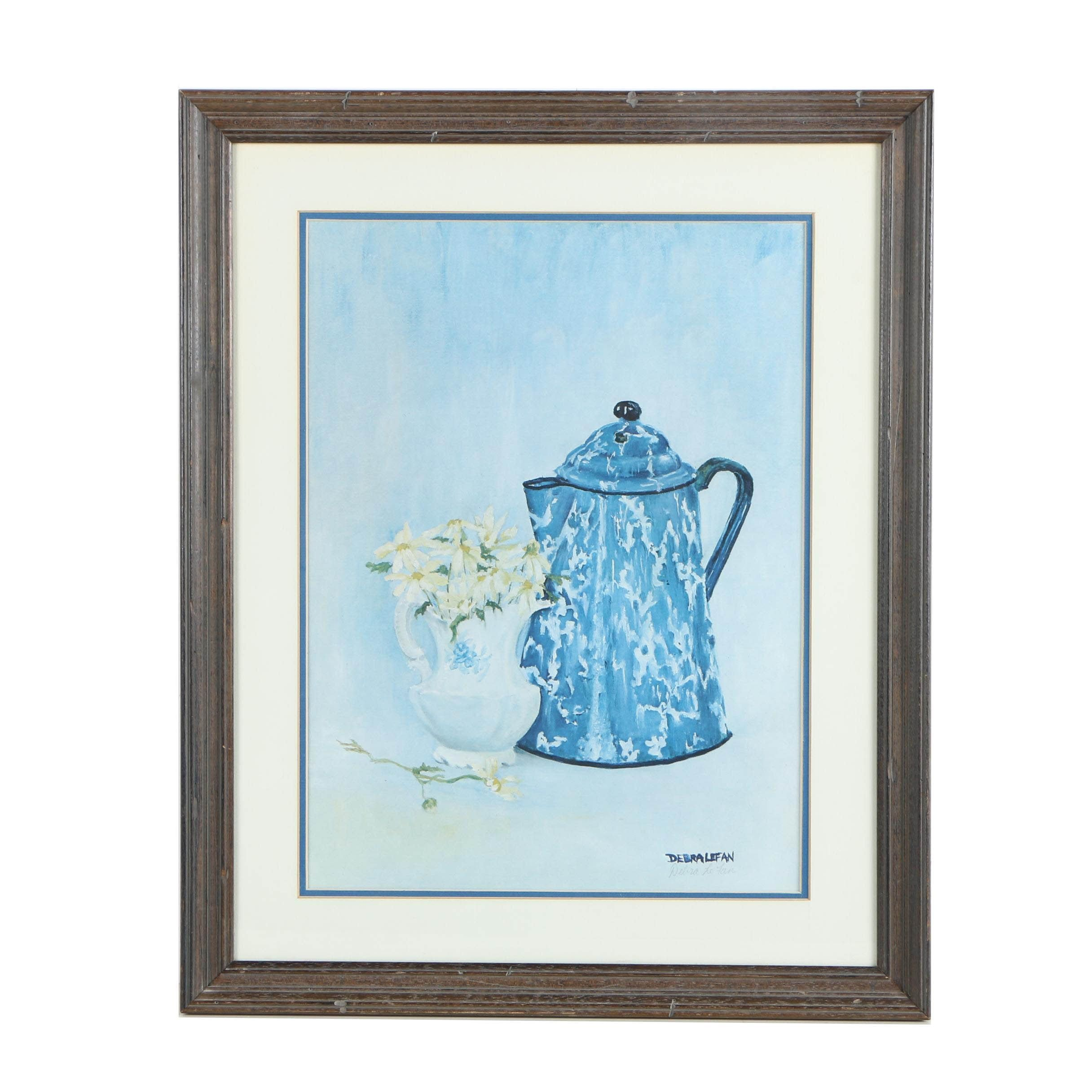 """Debra Le Fan Offset Lithographic Print of """"Reflections of an Era"""""""