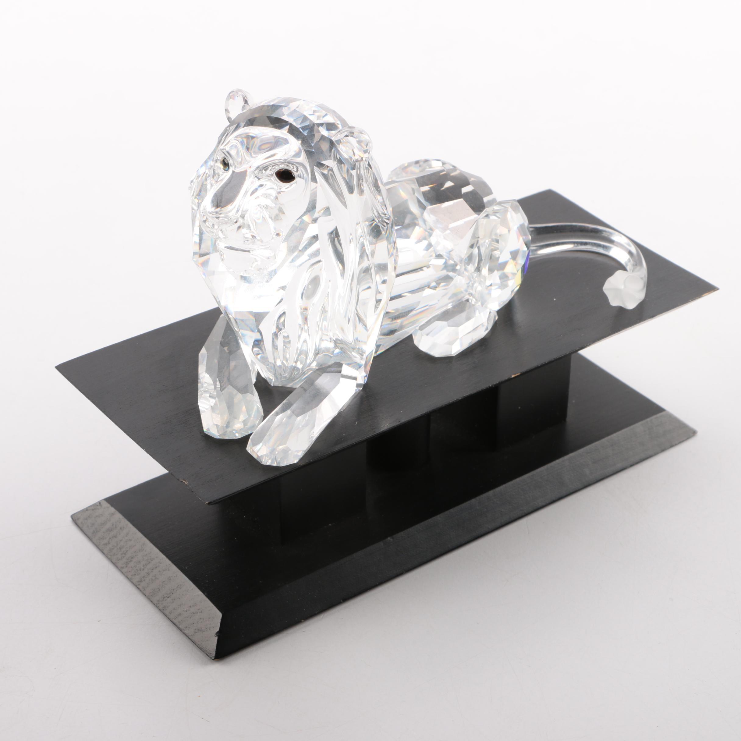 "Swarovski ""Fabulous Creatures"" Crystal Lion"