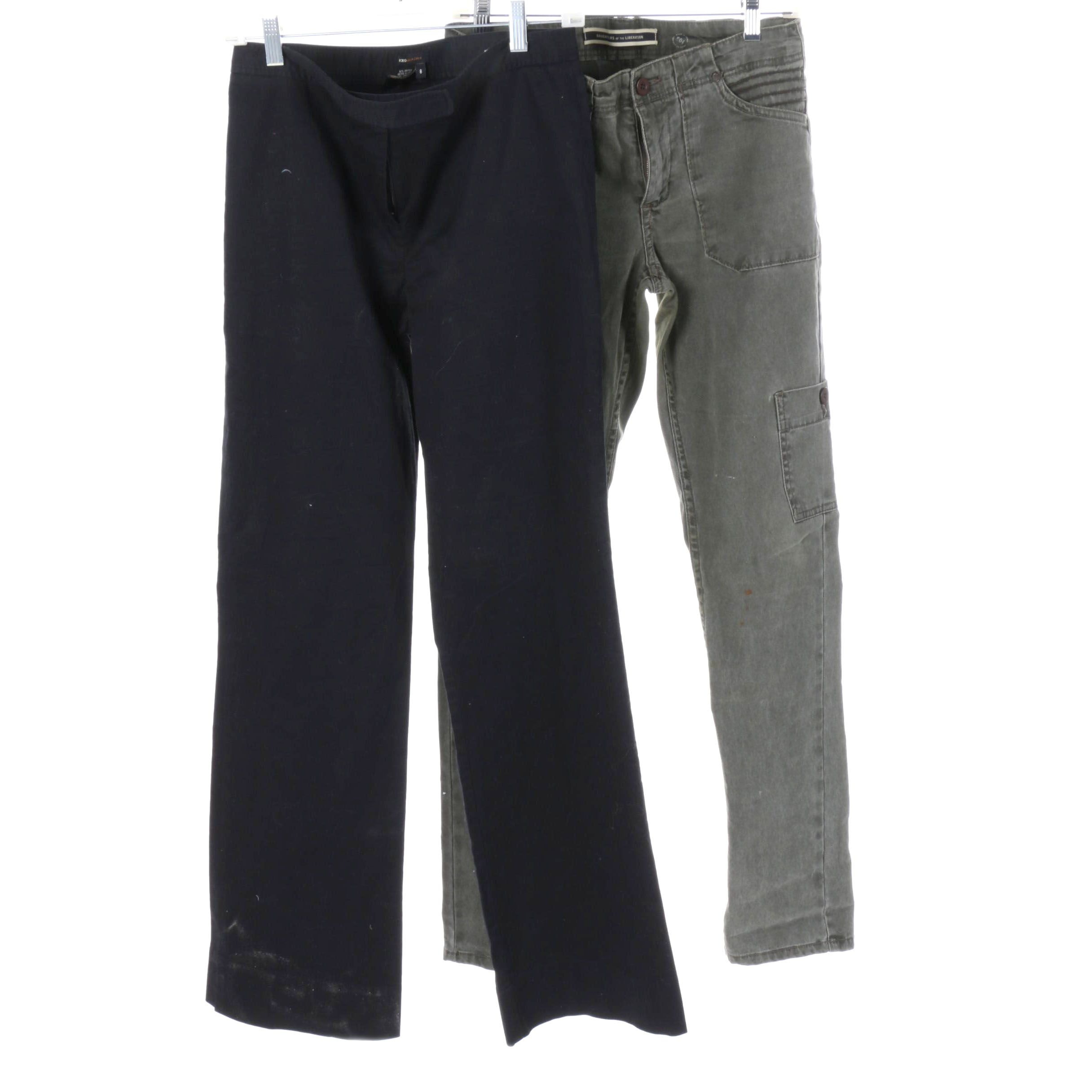 BCBG Max Azria and Daughters of the Liberation Pants