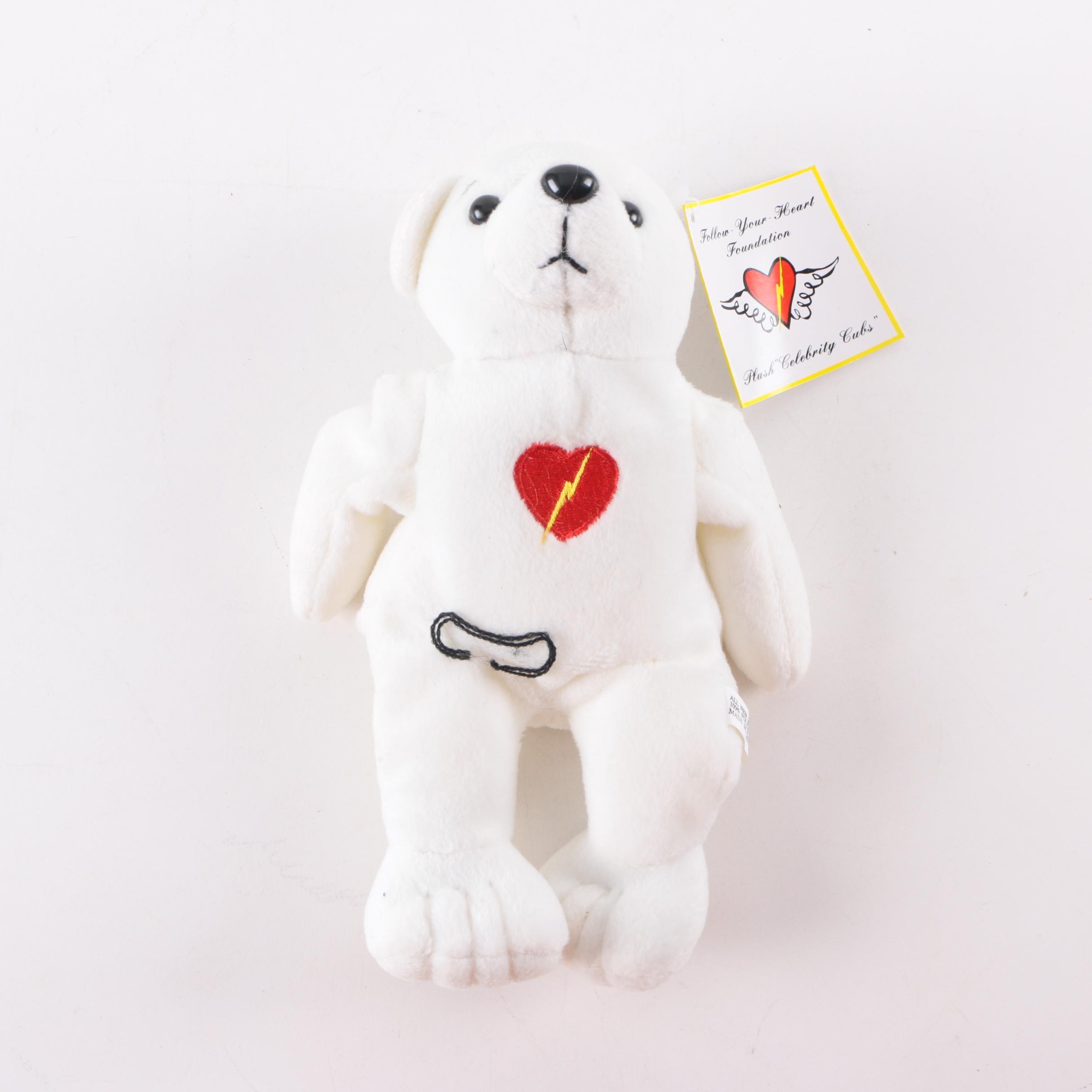 """Follow Your Heart Foundation """"Sharon Stone"""" Teddy Bear"""