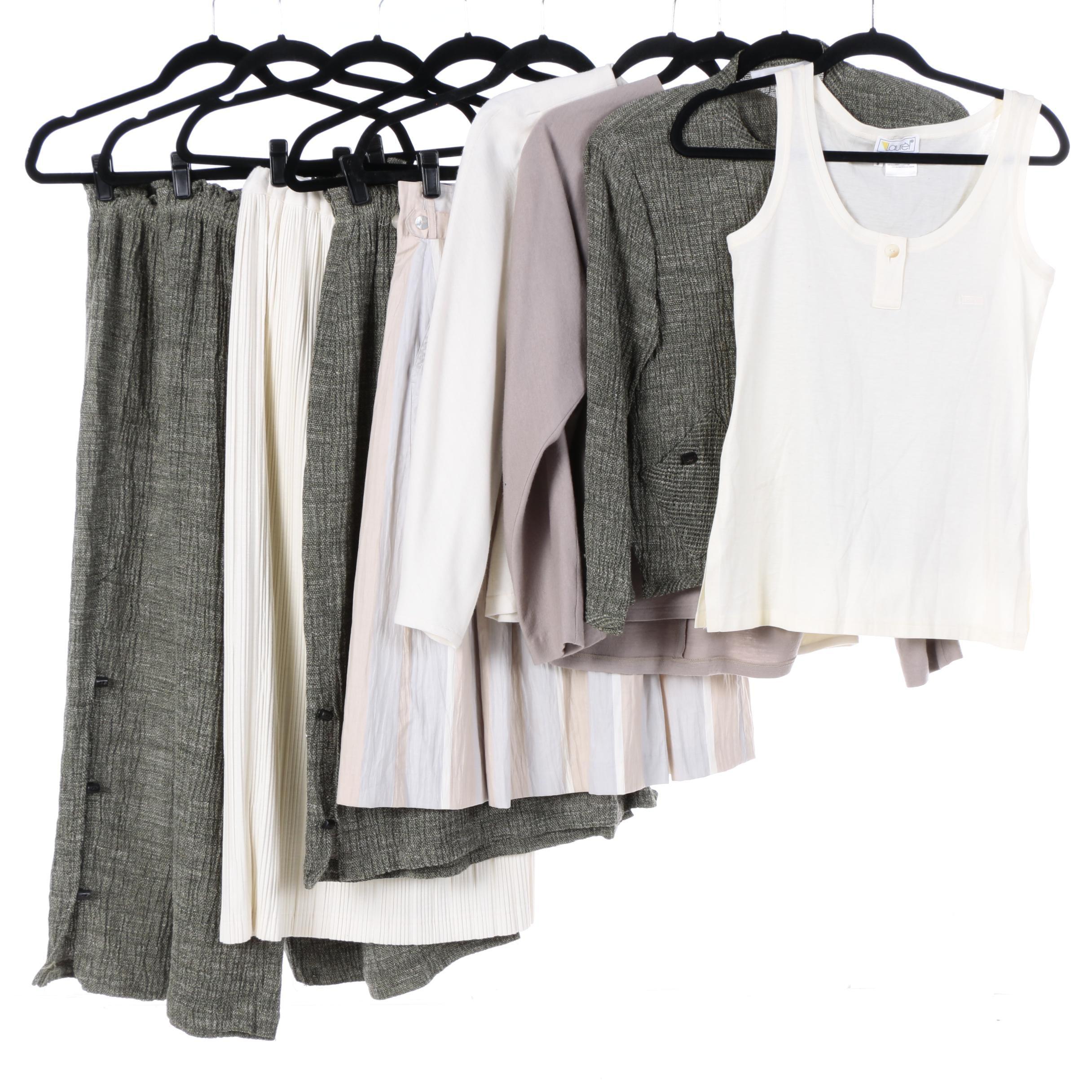 Women's Vintage Clothing Including Laurel, Caroline Rose and Janis Siegel