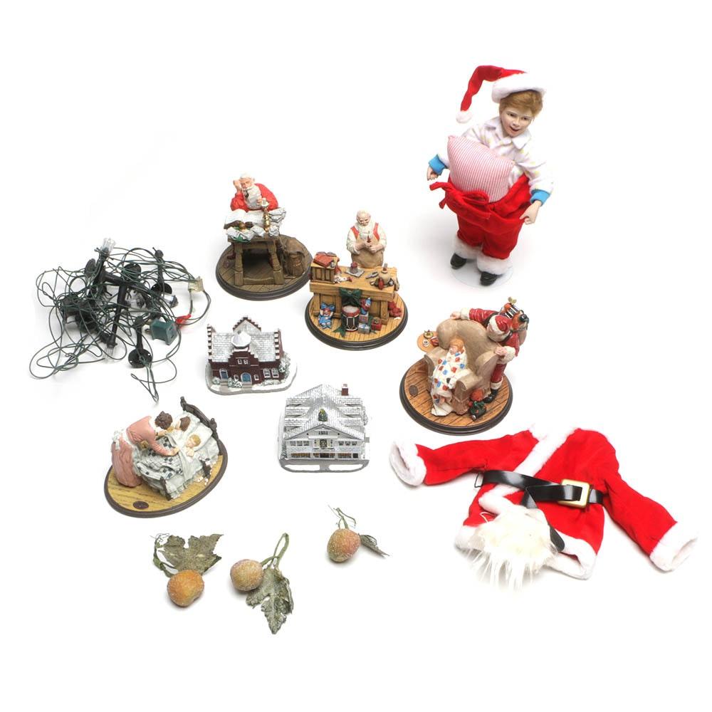 """Vintage Rhodes Studios """"Rockwell Heirloom"""" Christmas Displays"""