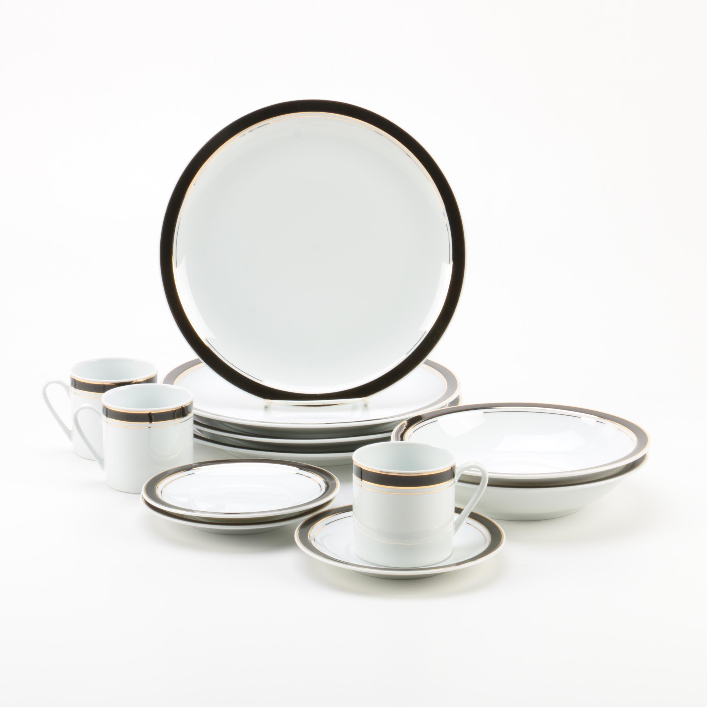 """Crown Porcelain """"Prestige"""" Tableware"""