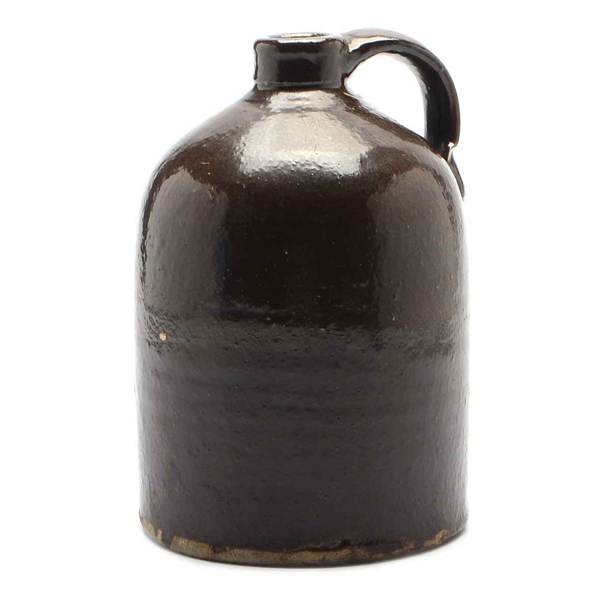 Vintage Brown Stoneware Jug