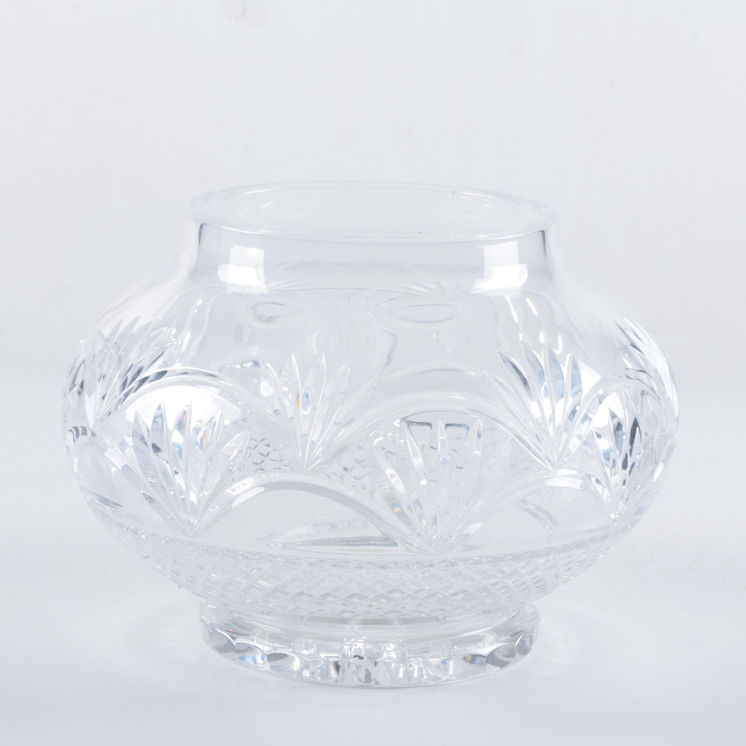 Gorham Style Crystal bowl