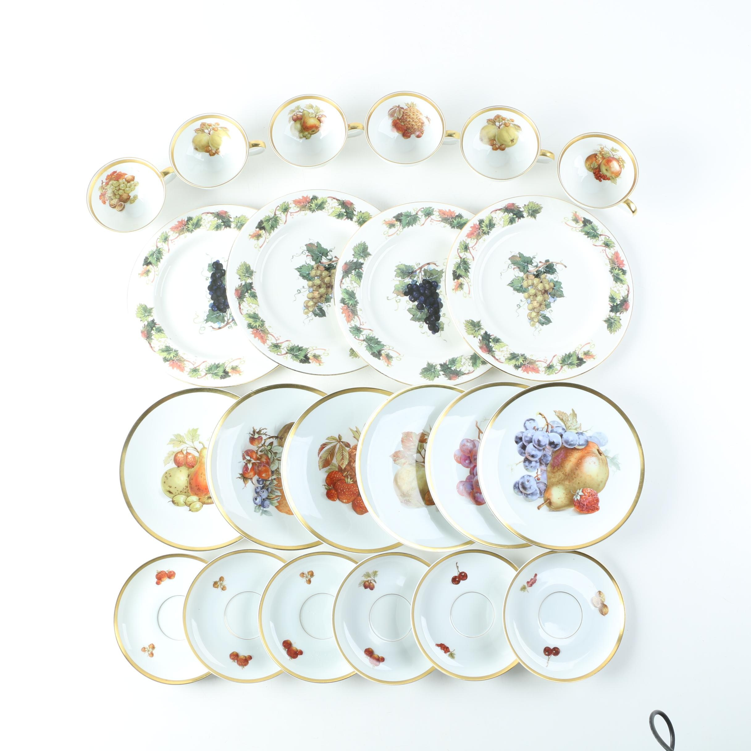 Vintage Porcelain Tableware Featuring Ebeling & Reuss Co.