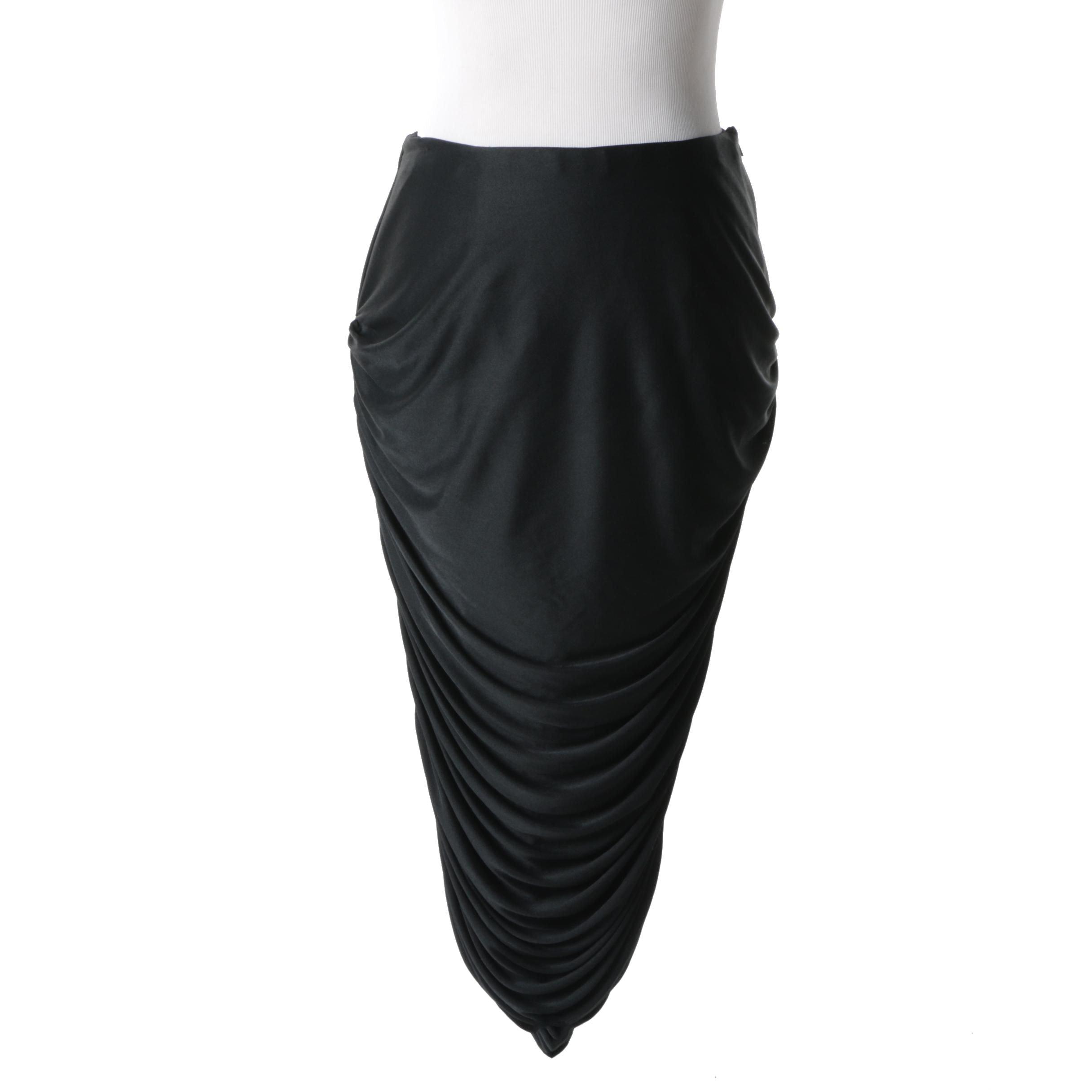 Dorzia by Jane McCartney Black Skirt