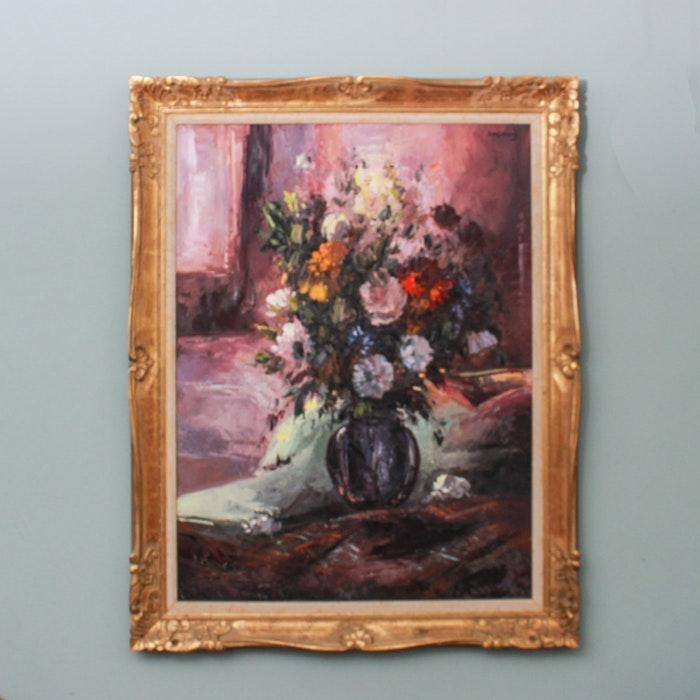 Painting of a Flower Arrangement
