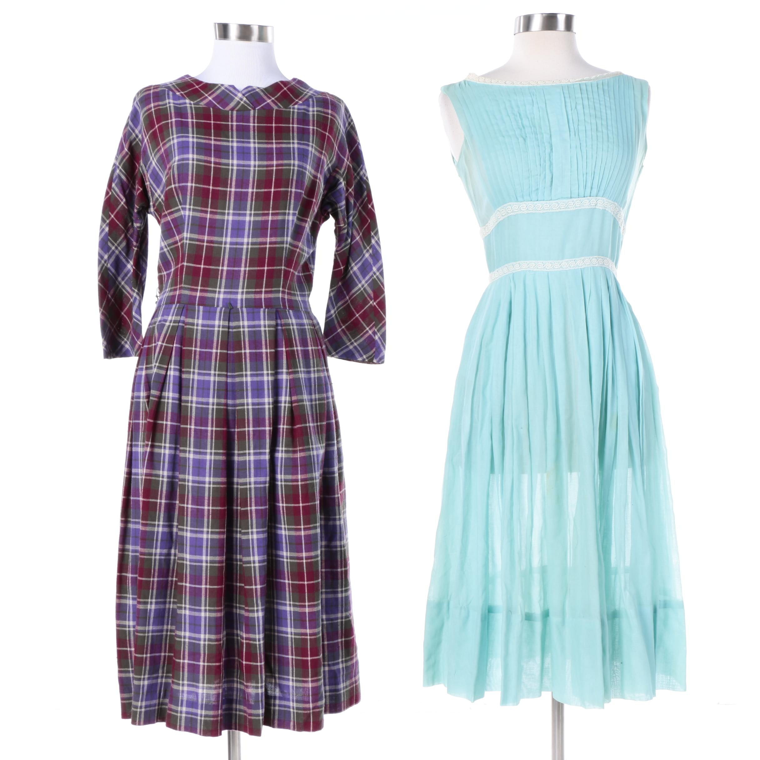 Vintage Fashionmaker and Gay Gibson Dresses