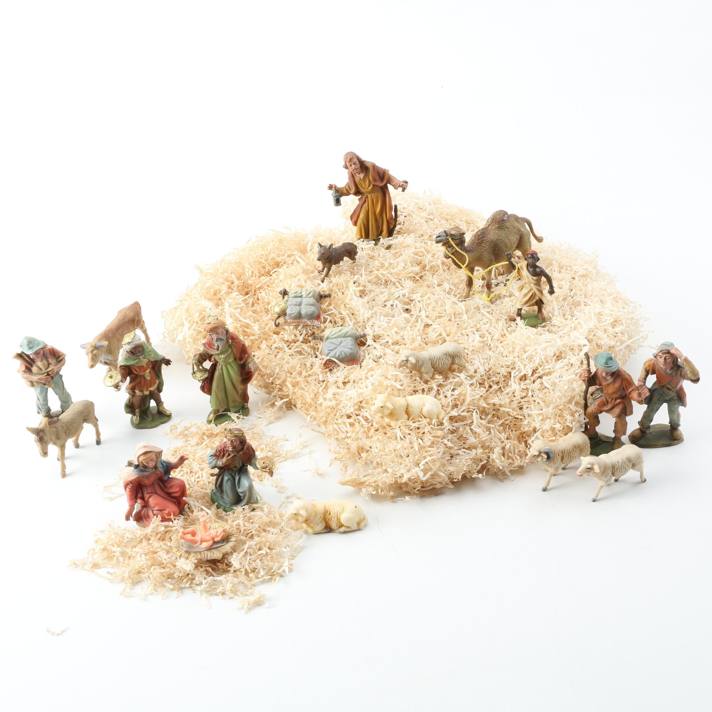 Nativity Scene by Marolin