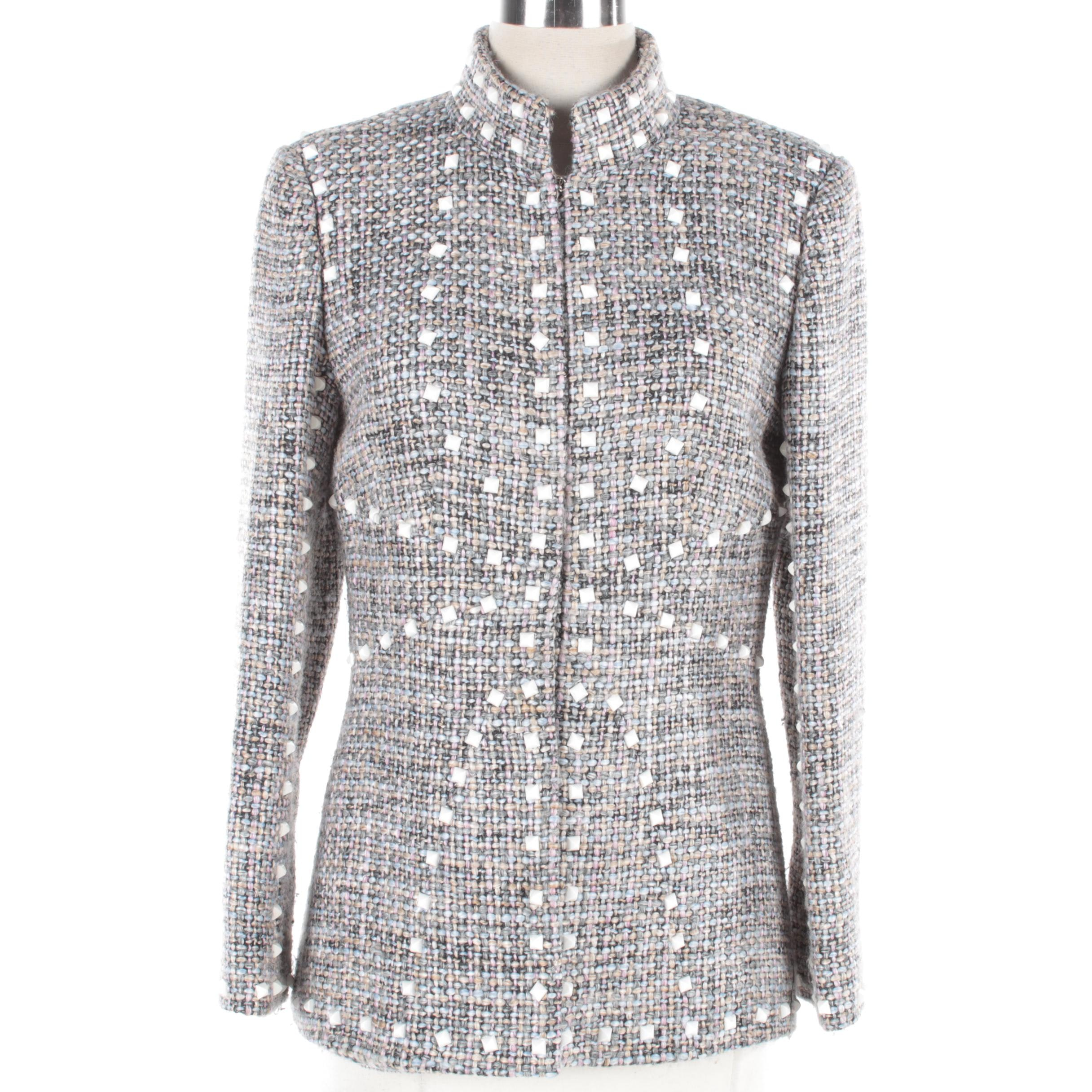 Chanel Autumn Winter 2003 Bouclé Tweed Jacket