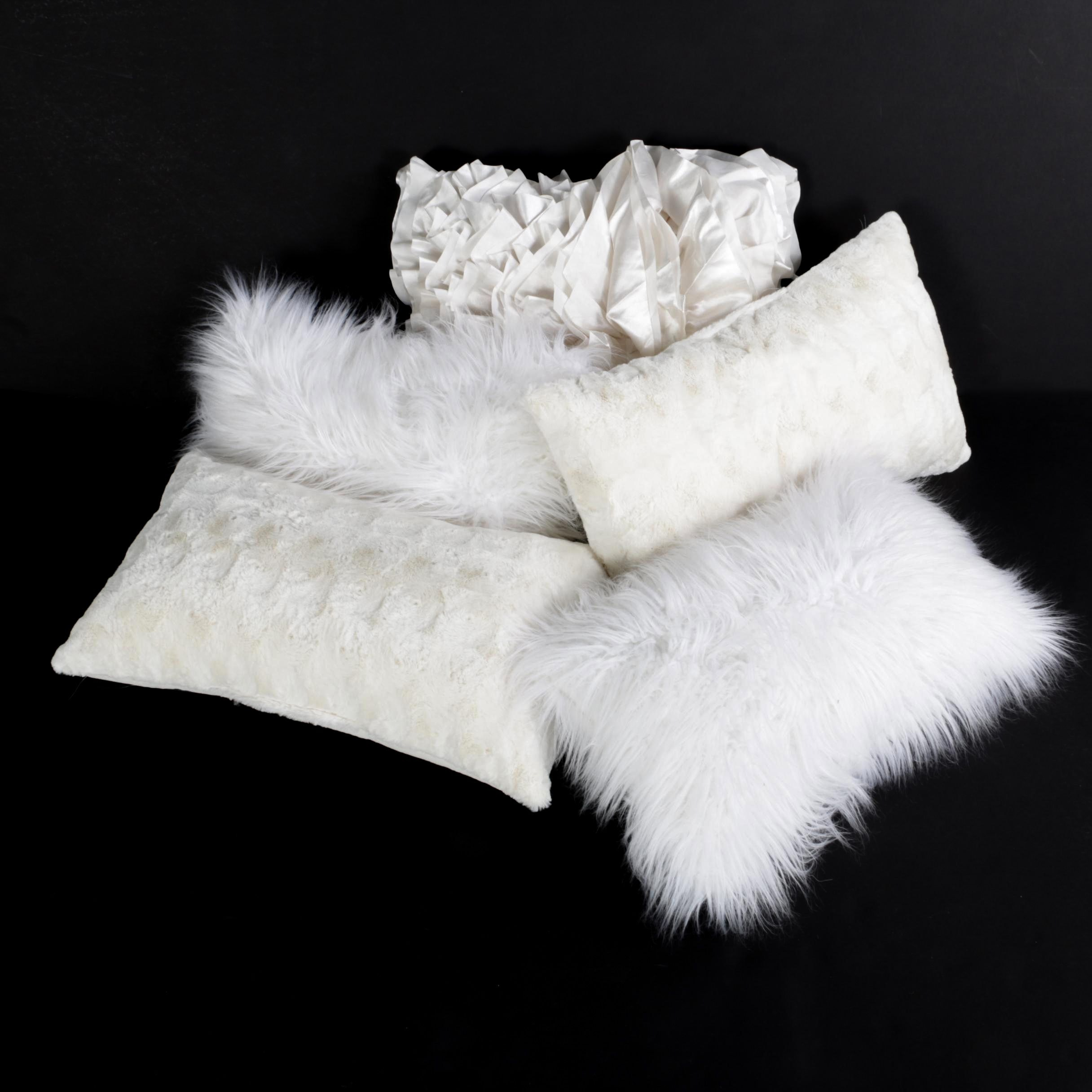 Variety of Decorative Throw Pillows including Pier 1