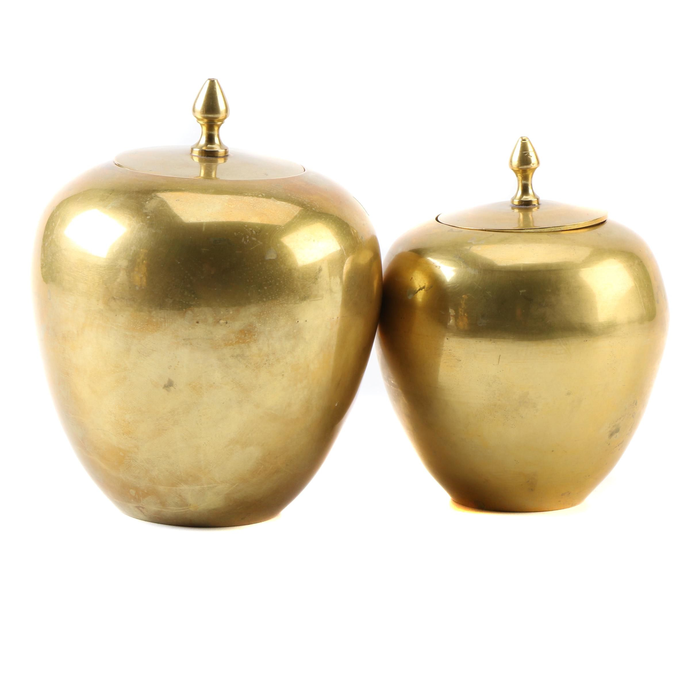 Solid Brass Canisters