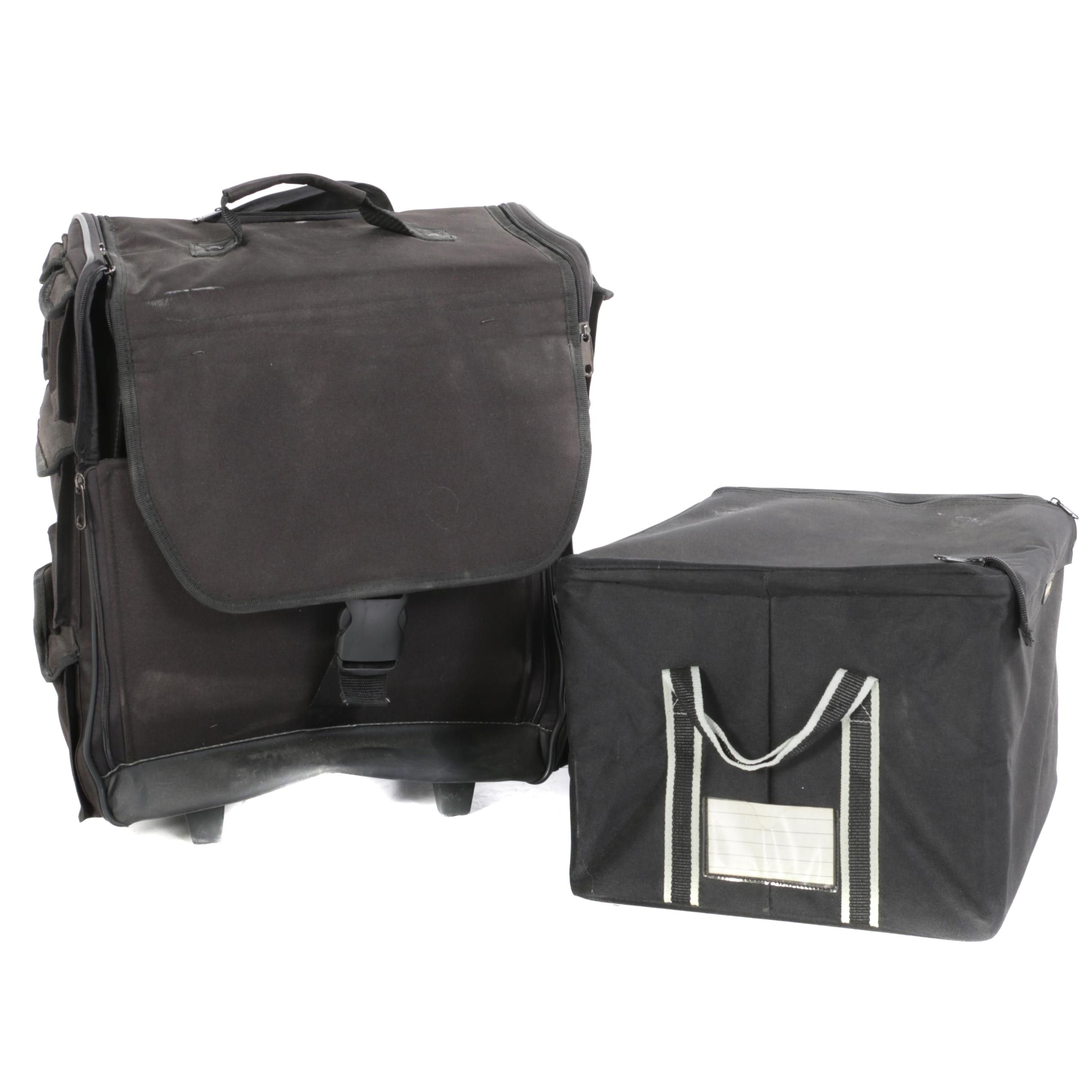 Leif Carry-On and Reisenthel Storage Boxes