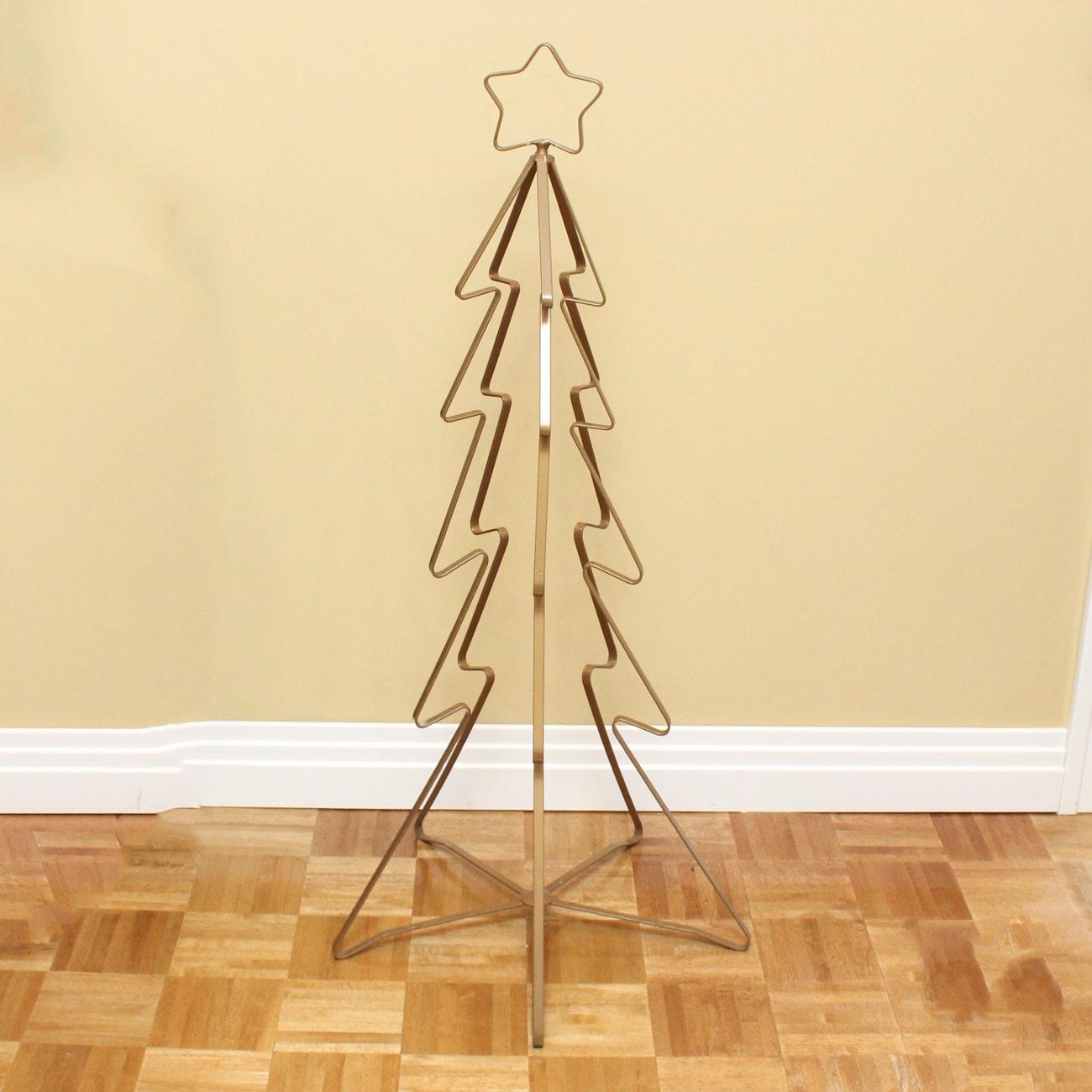 Decorative Metal Christmas Tree