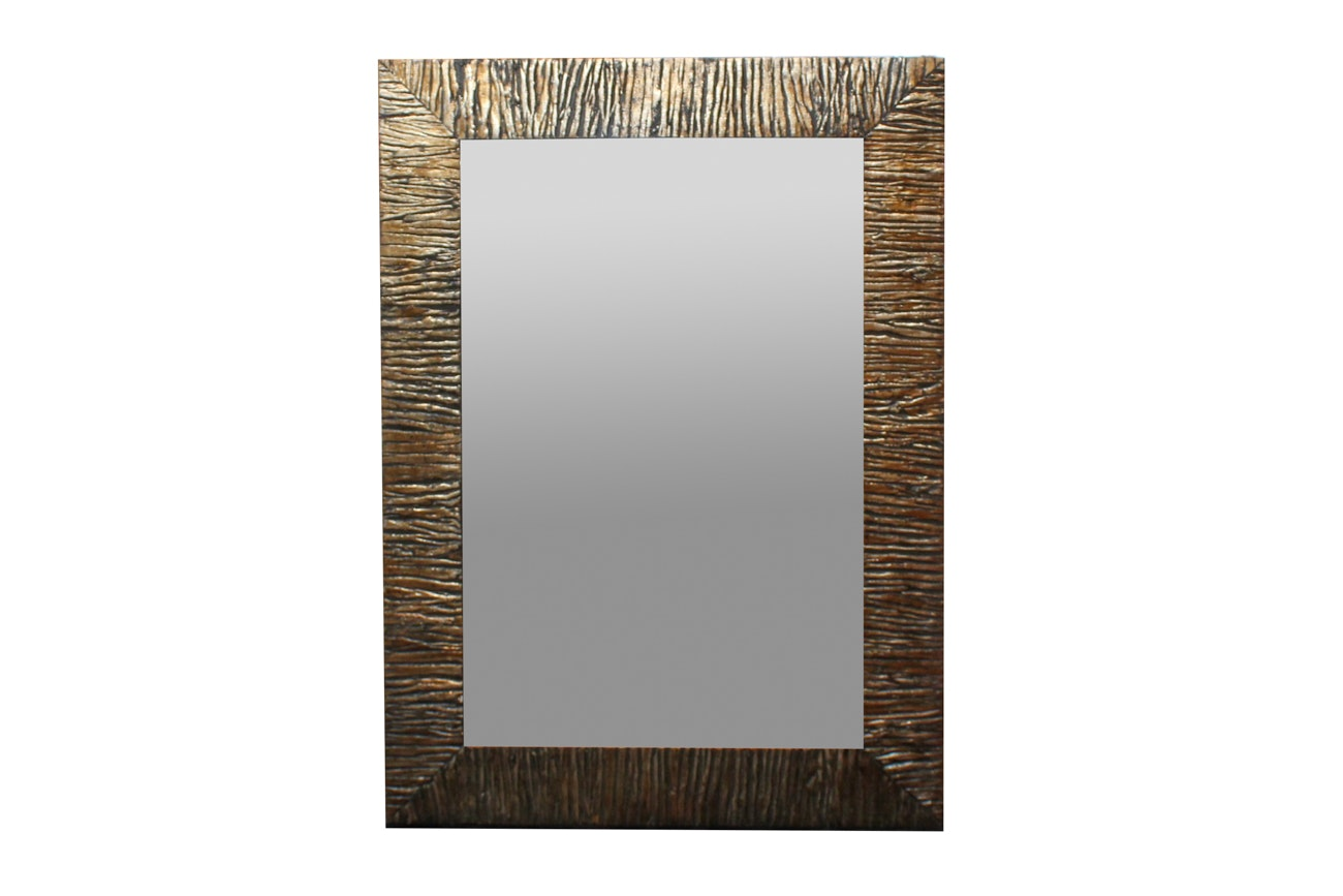 Uttermost Gold Toned Wall Mirror