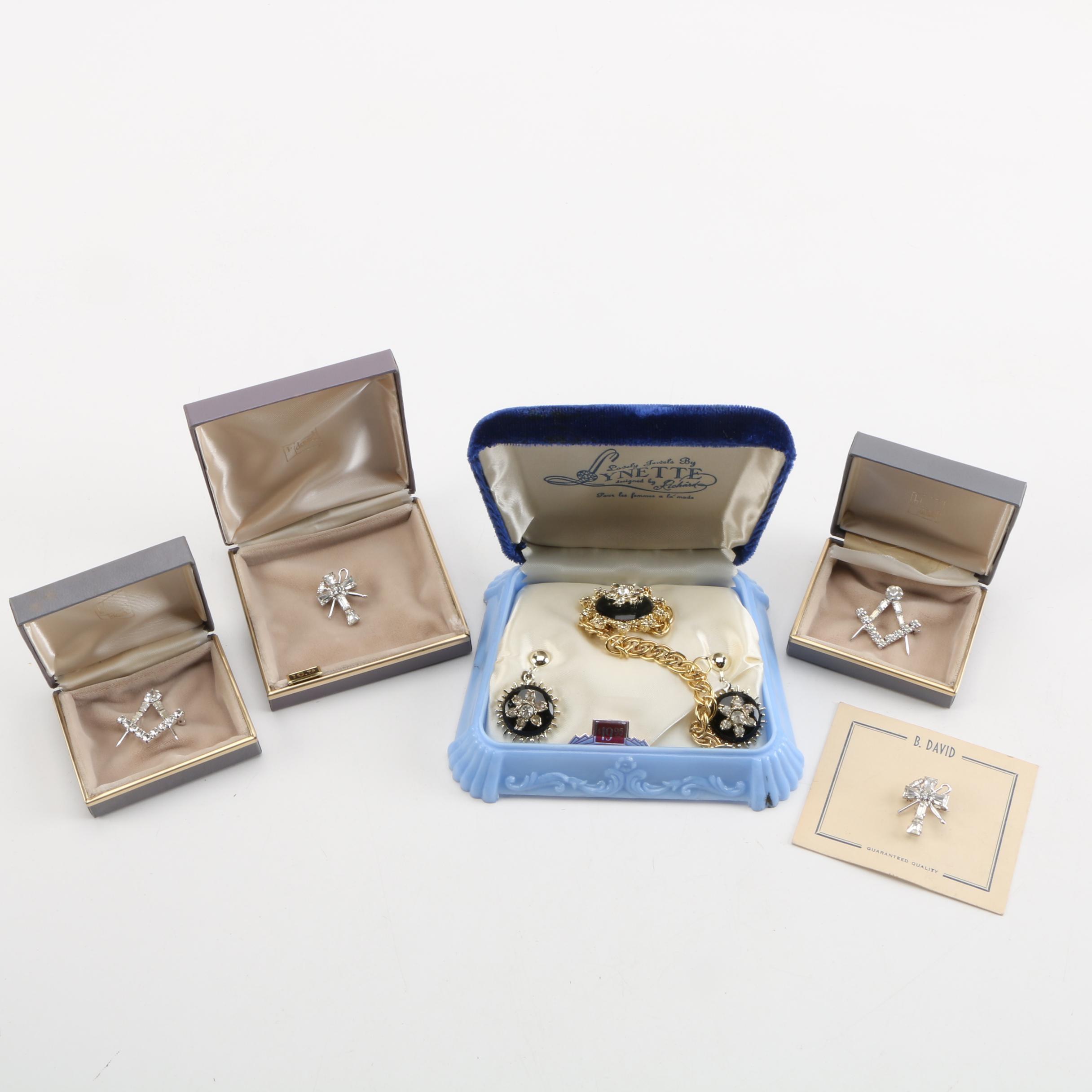 Assorted Decorative Pins