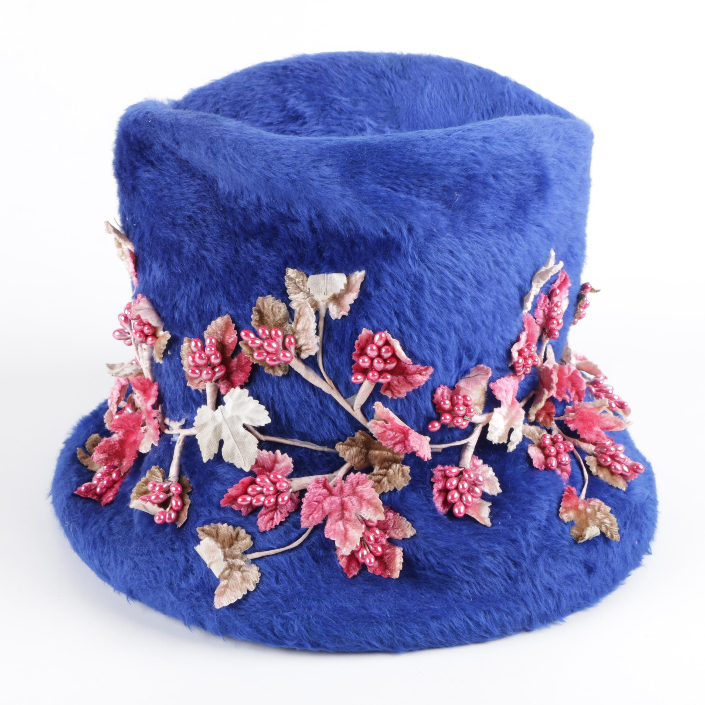 Vintage Originals by Mr. Josephs New York Embellished Hat