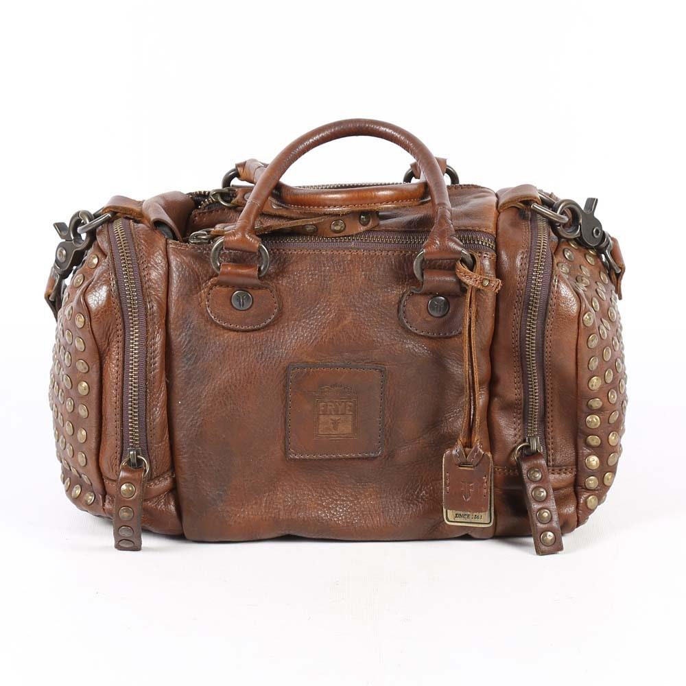 Frye Brooke Speedy Studded Duffel Handbag
