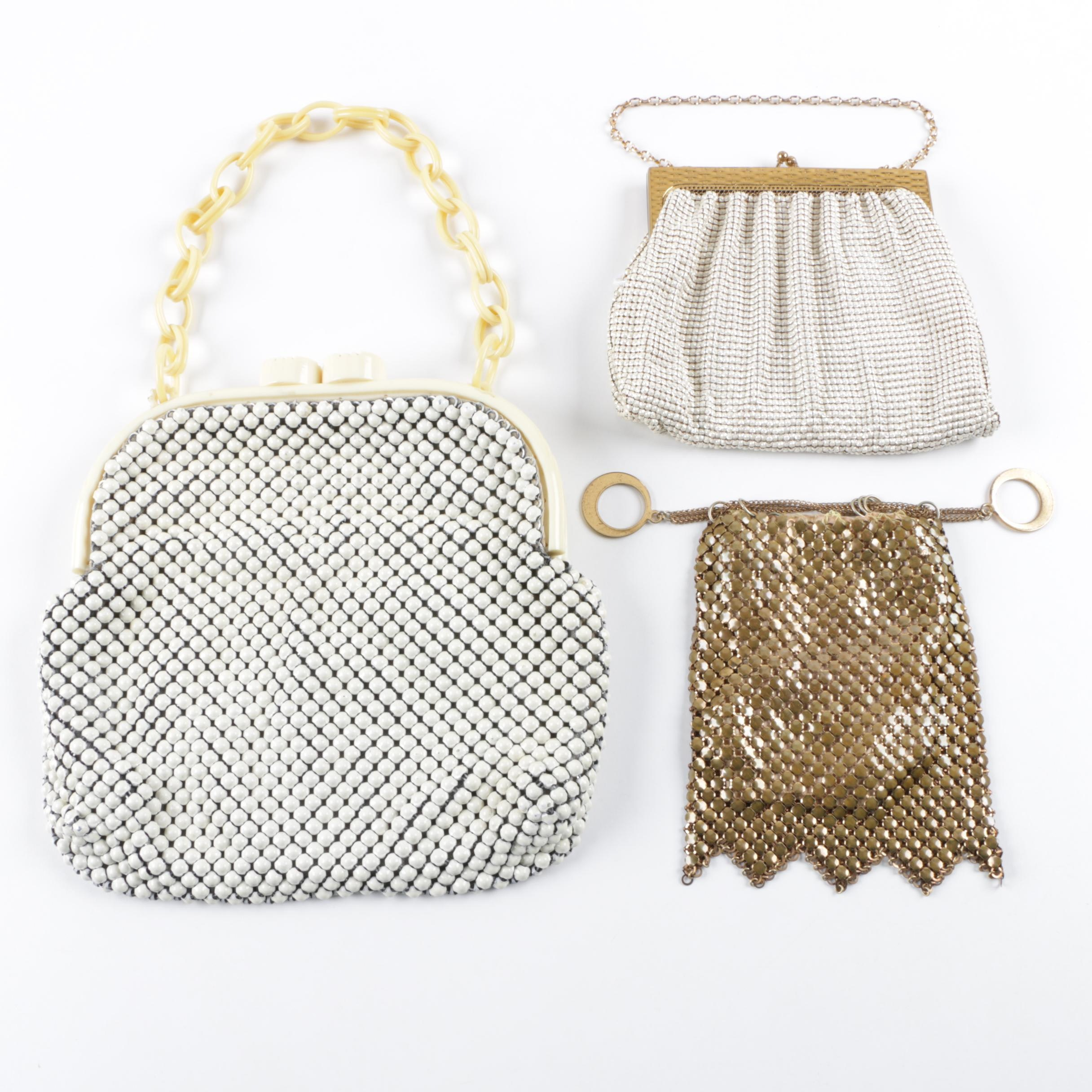 Vintage Mesh Evening Bags including Whiting & Davis