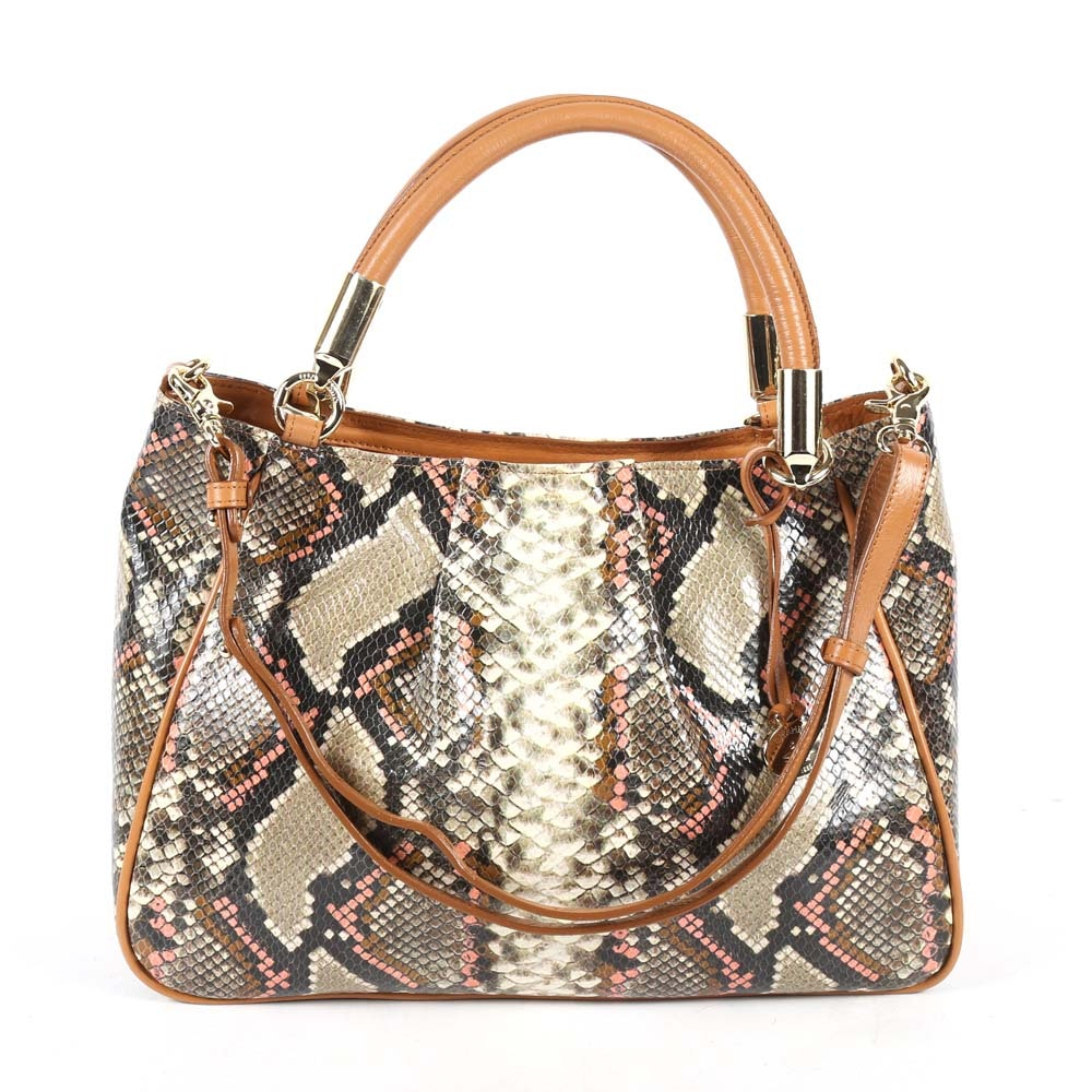 Brahmin Ruby Hermosa Satchel Handbag