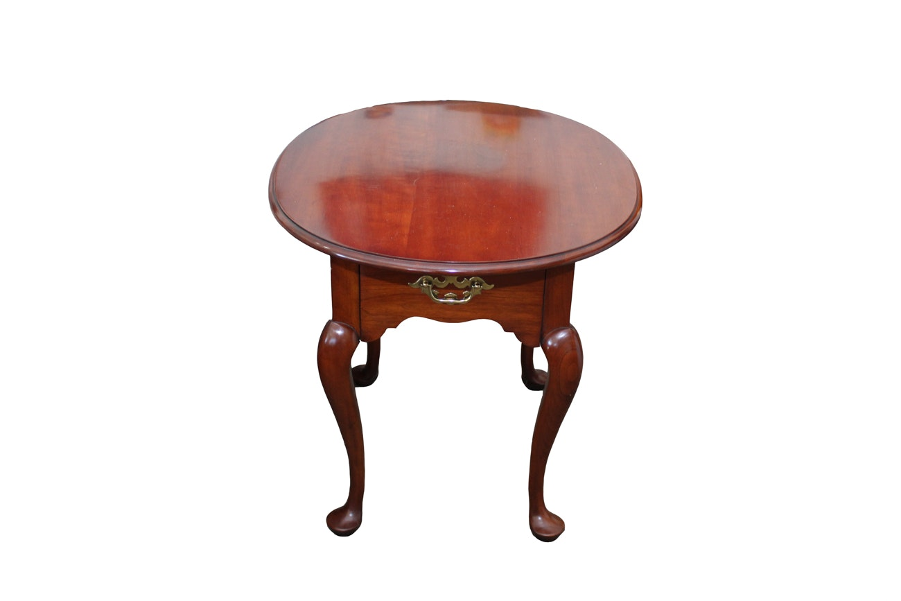 Statton Trutype Americana Wooden Accent Table