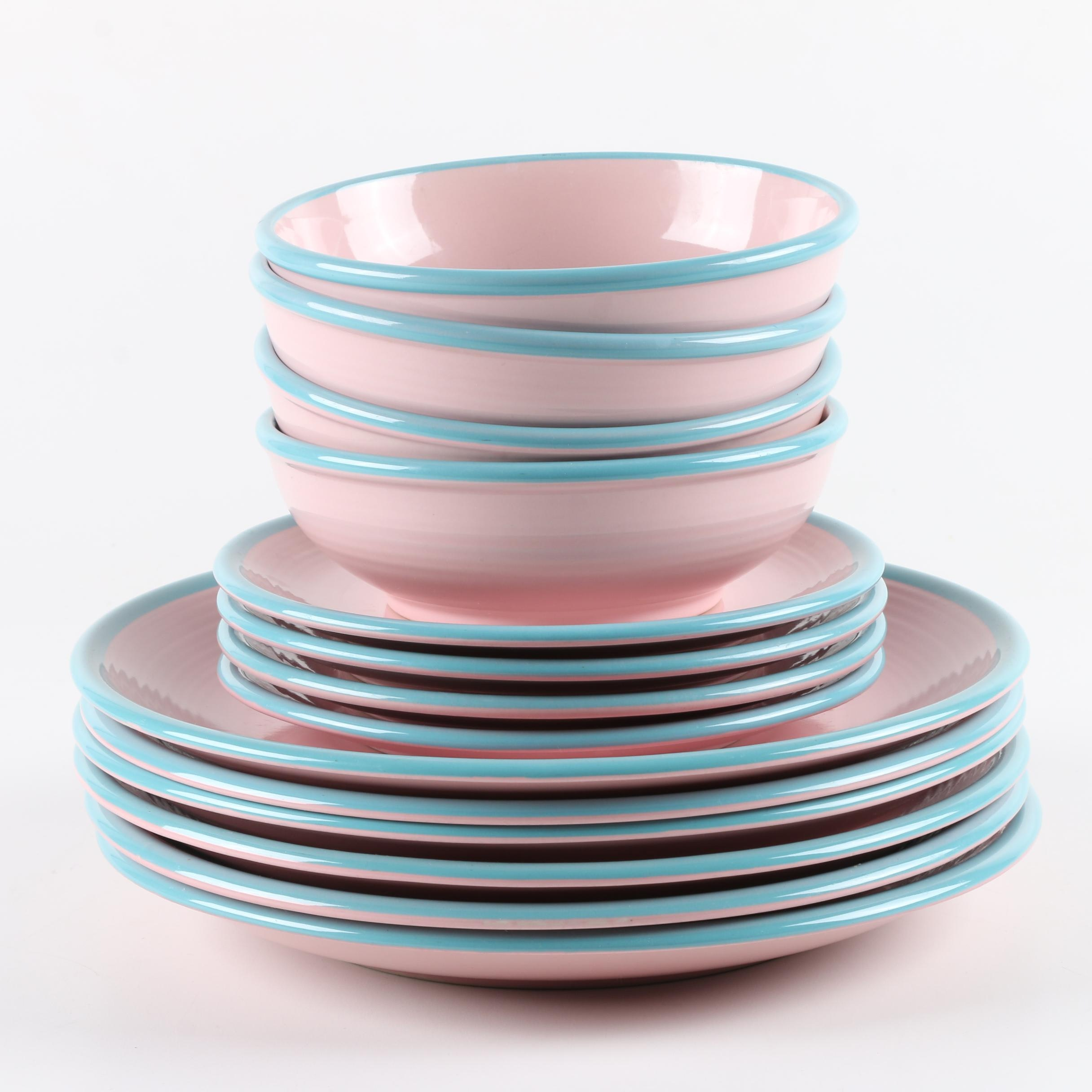 "Century China ""Rio Pink"" Tableware"