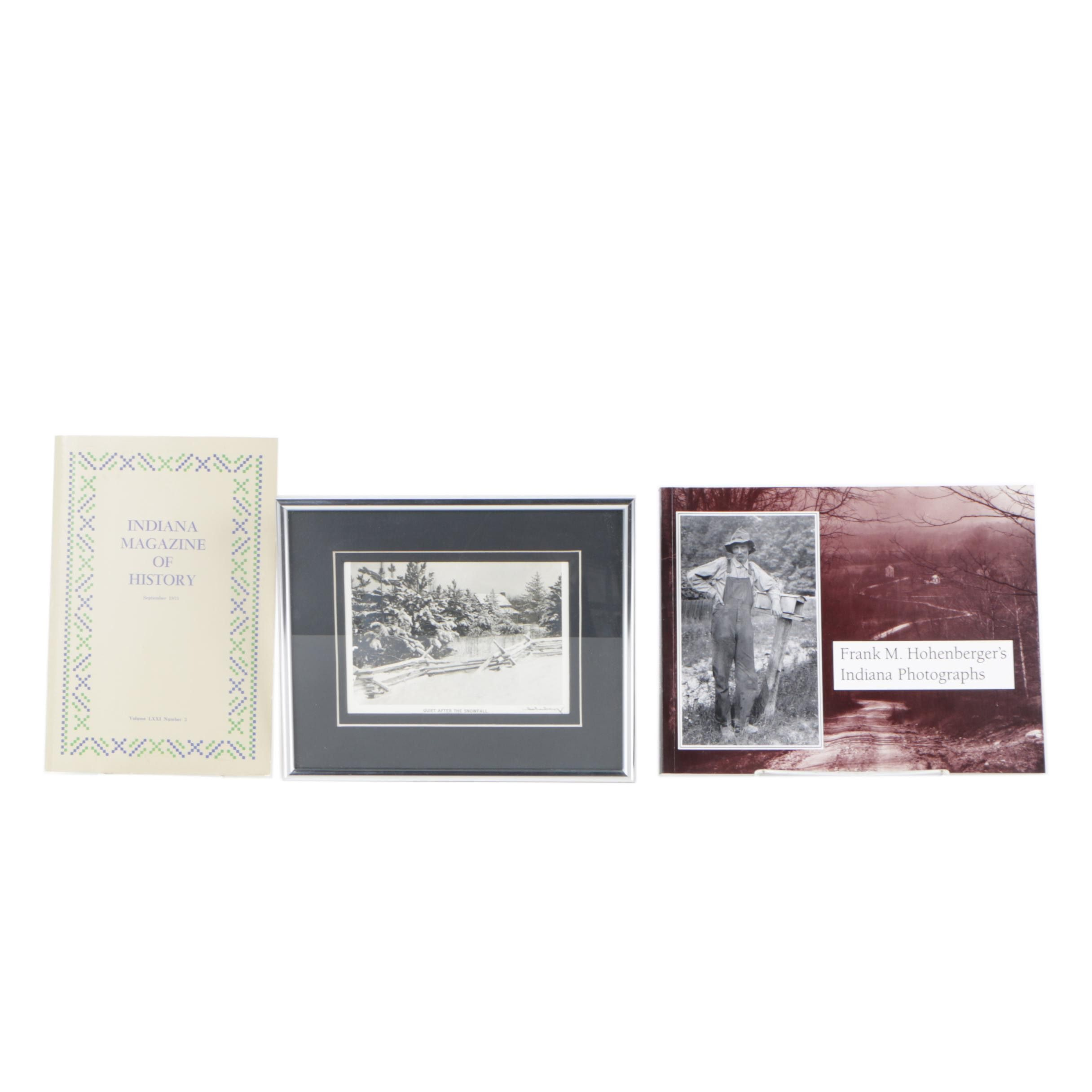 Frank Hohenberger Silver-Gelatin Photograph and Books