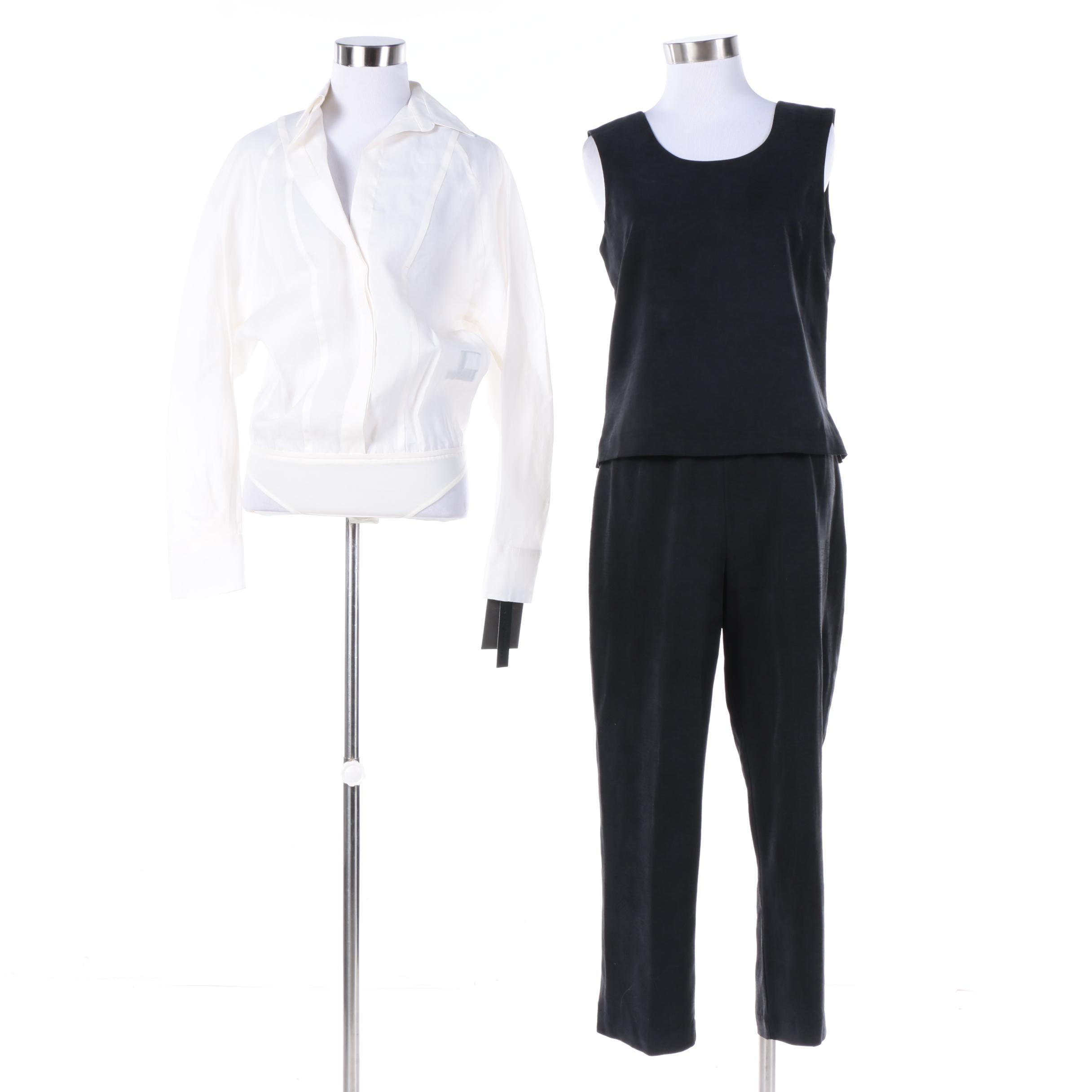 Tommy Bahama and Donna Karan Silk Clothing