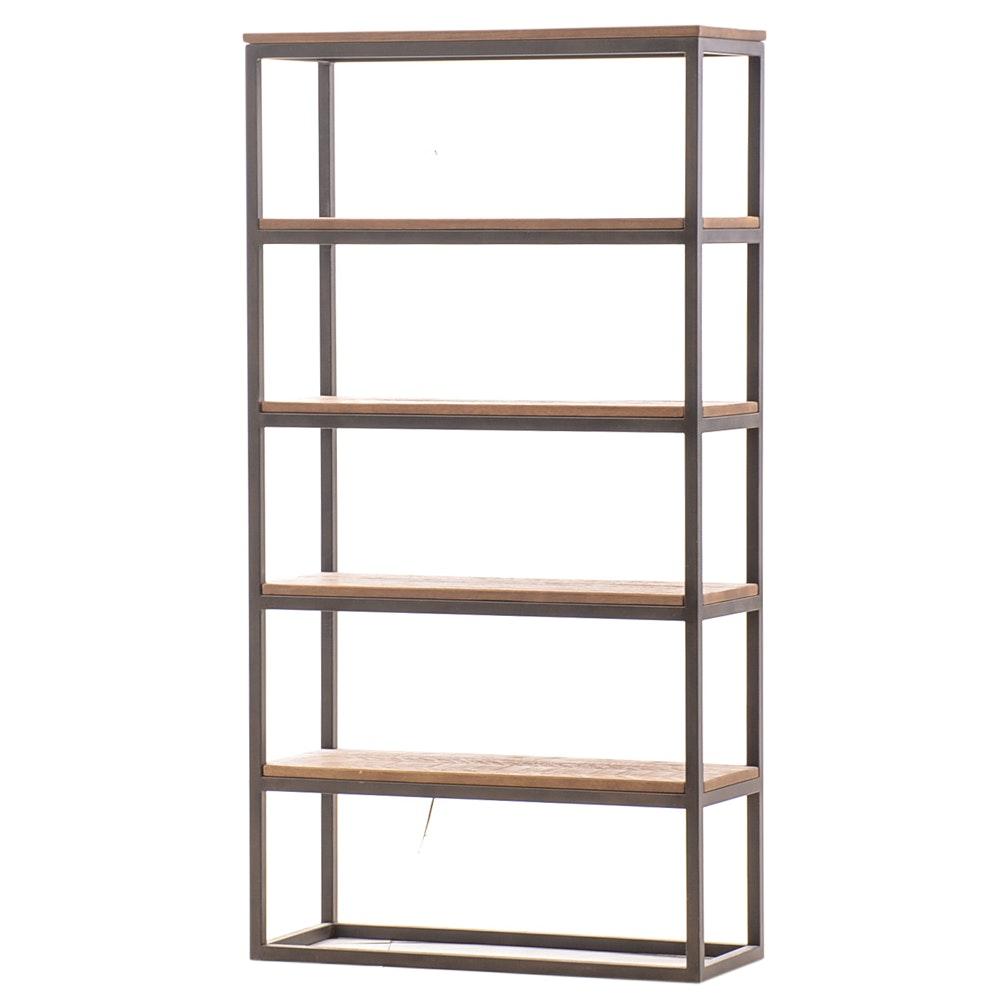 Arhaus Palmer Solid Pine Bookcase