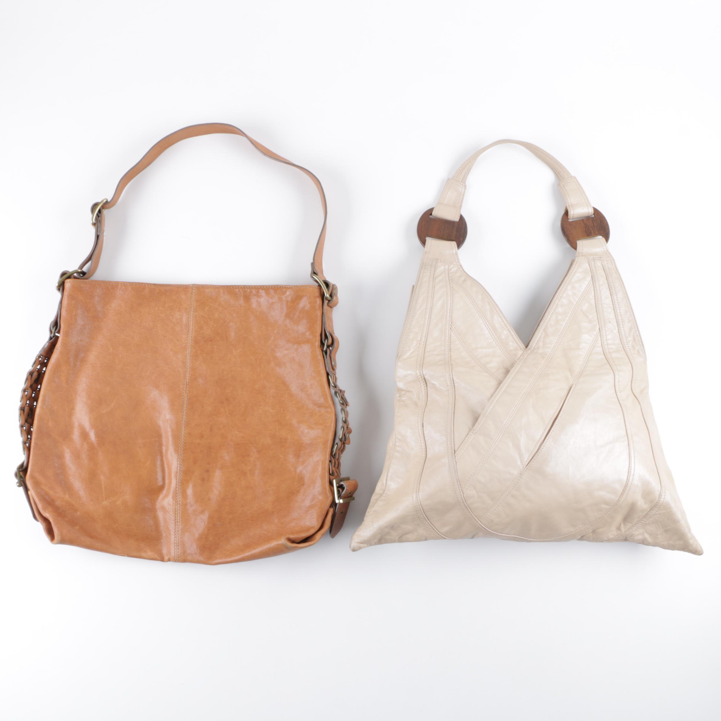 Ananas and Kooba Leather Handbags