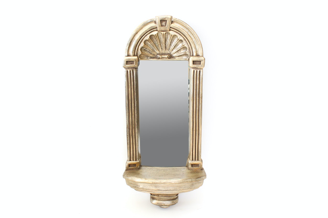 Decorative Mirrored Wall Sconce