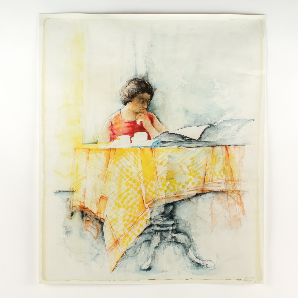 "John Tuska Studio Print ""Solitude"""