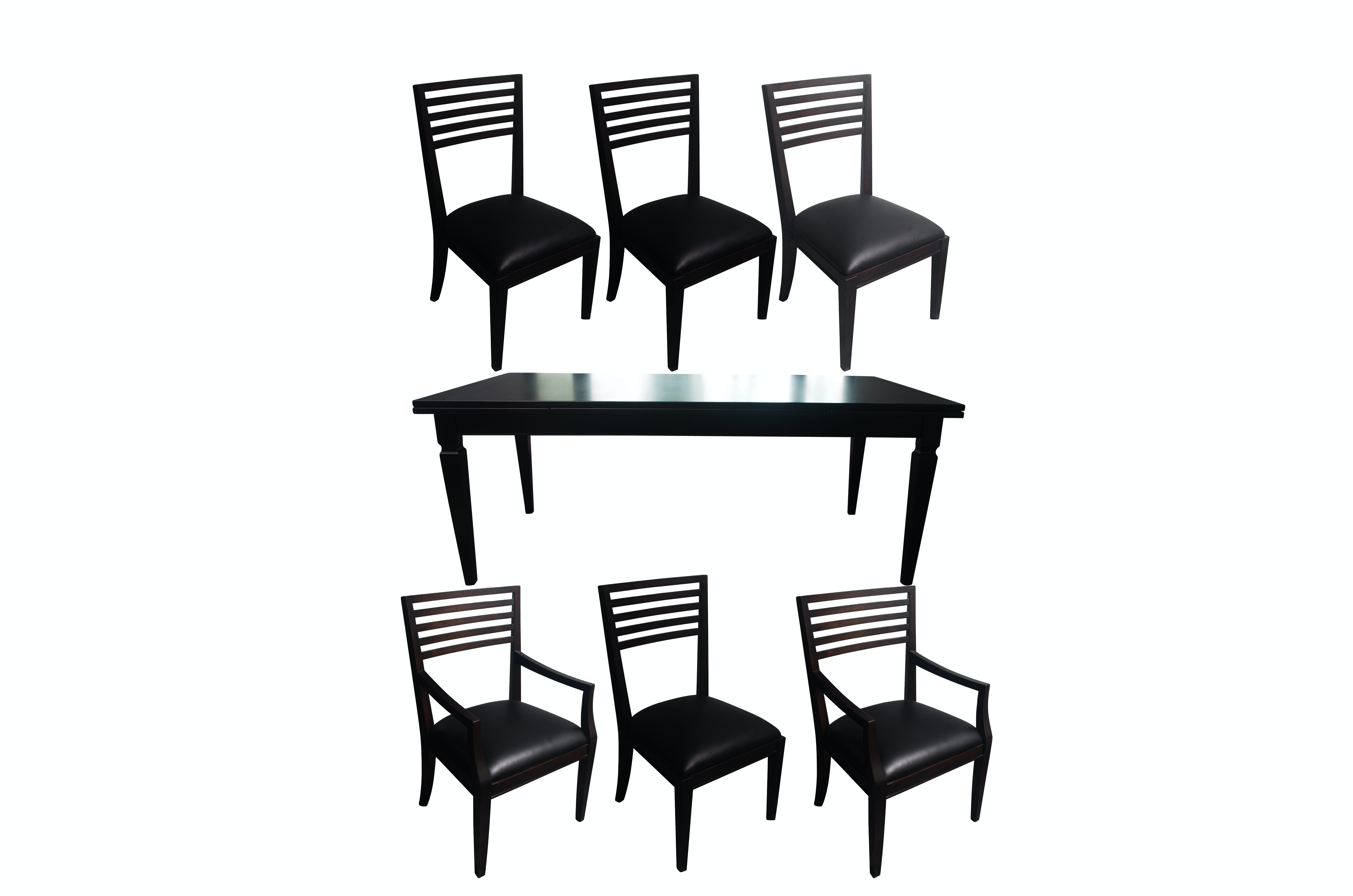 Arhaus Luciano Extendable Dining Table with Chairs
