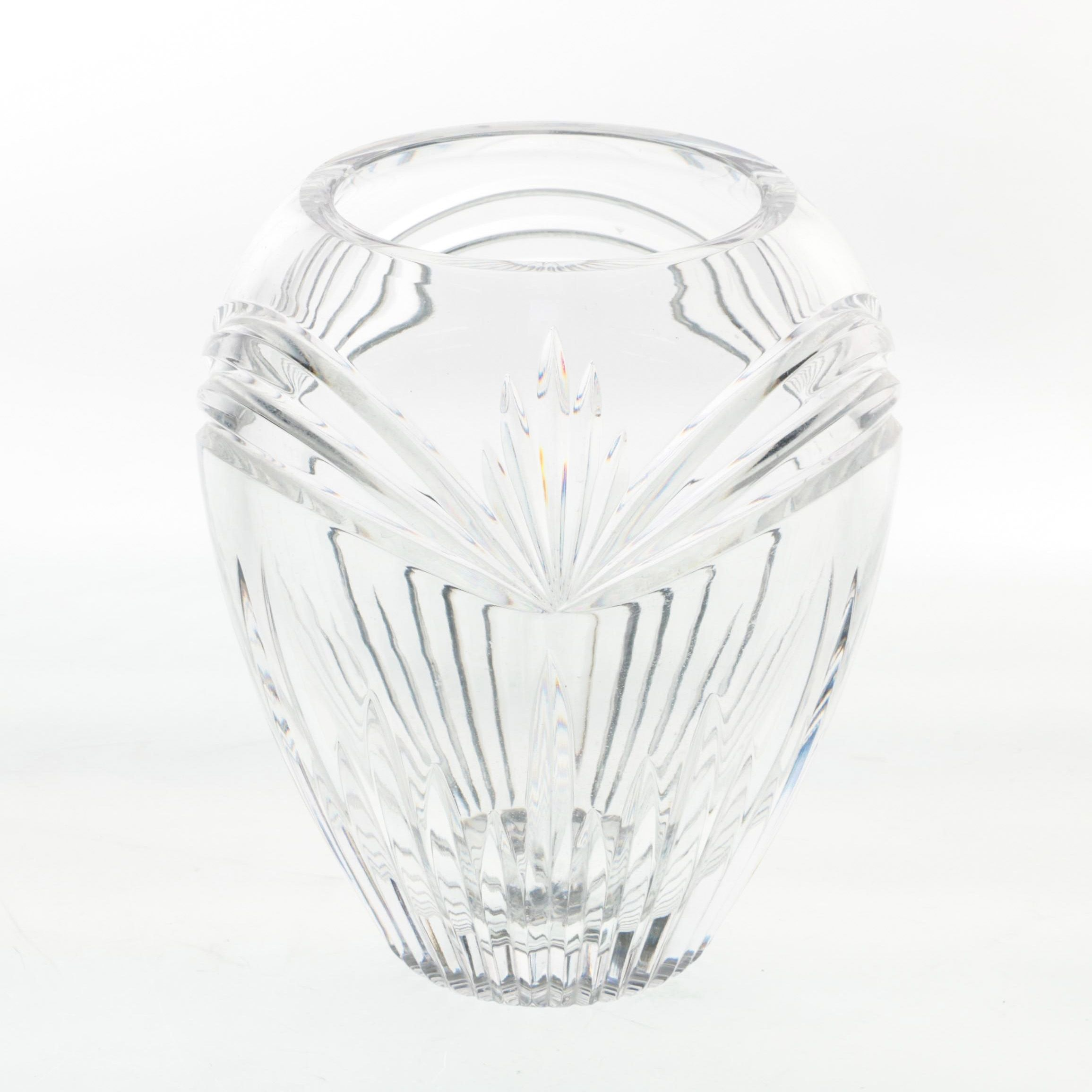 """Marquis by Waterford """"Calais"""" Crystal Vase"""