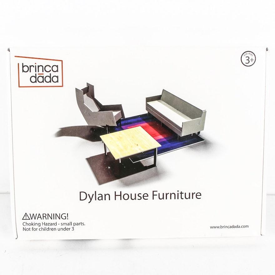 Brinca Dada Dylan House Furniture Dollhouse Set