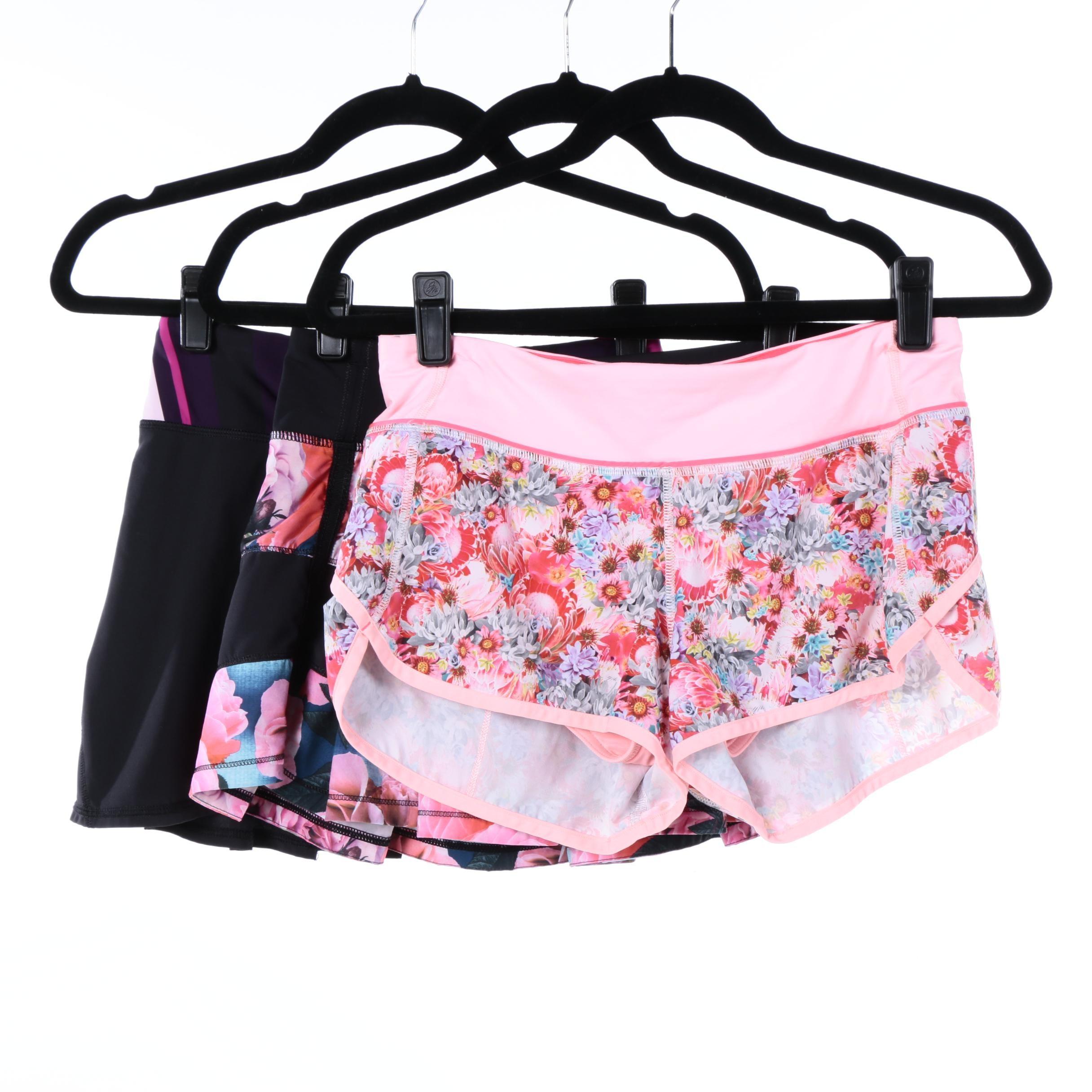 Lululemon Tennis Skirts and Running Shorts