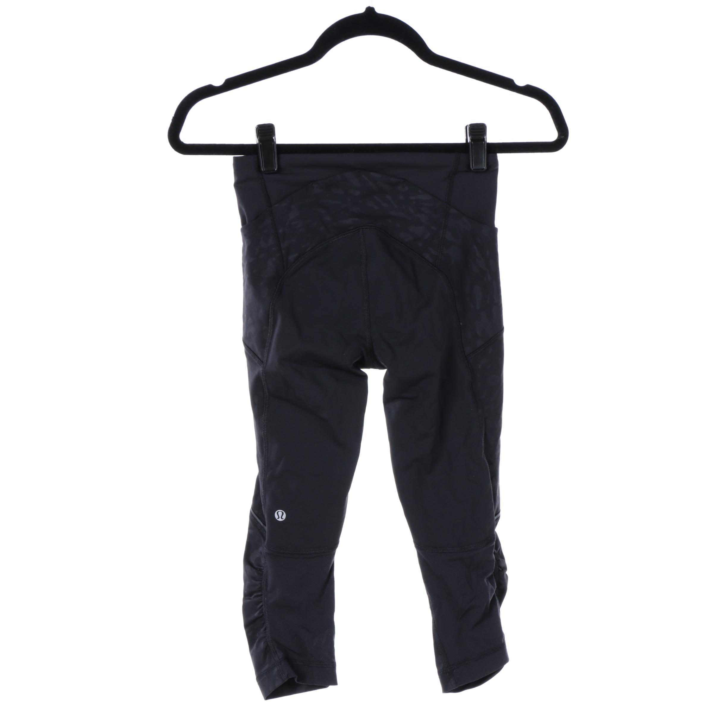 Women's Lululemon Cropped Exercise Pants