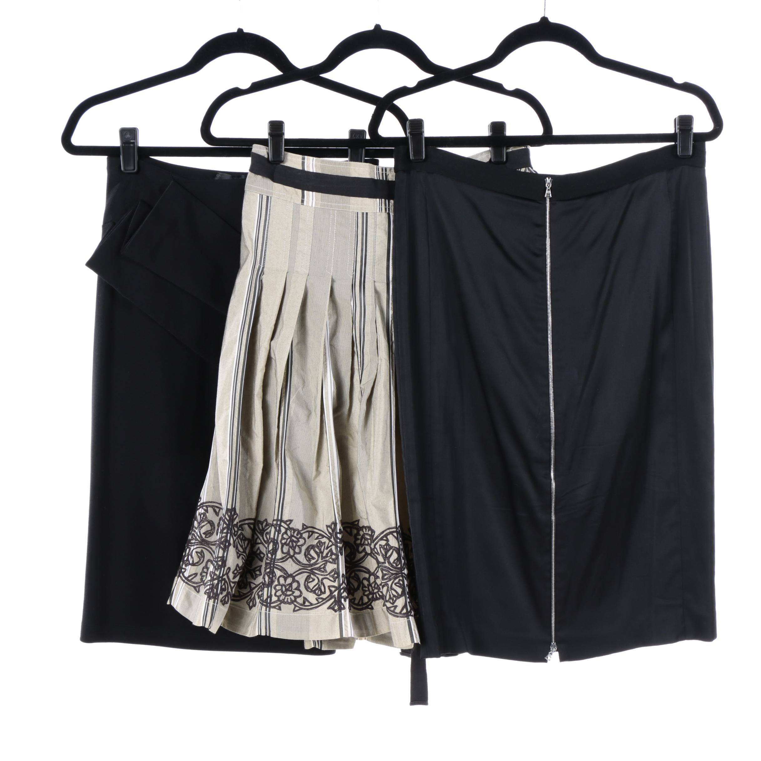 Donna Karan, Pauw Amsterdam and Narciso Rodriguez Skirts