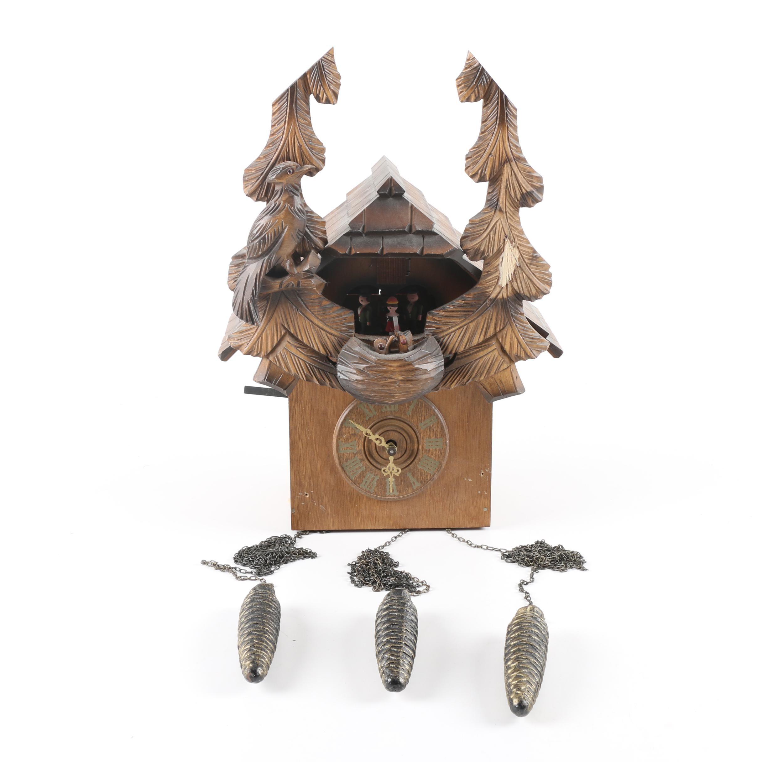 Schlagabschaltung German Cuckoo Clock