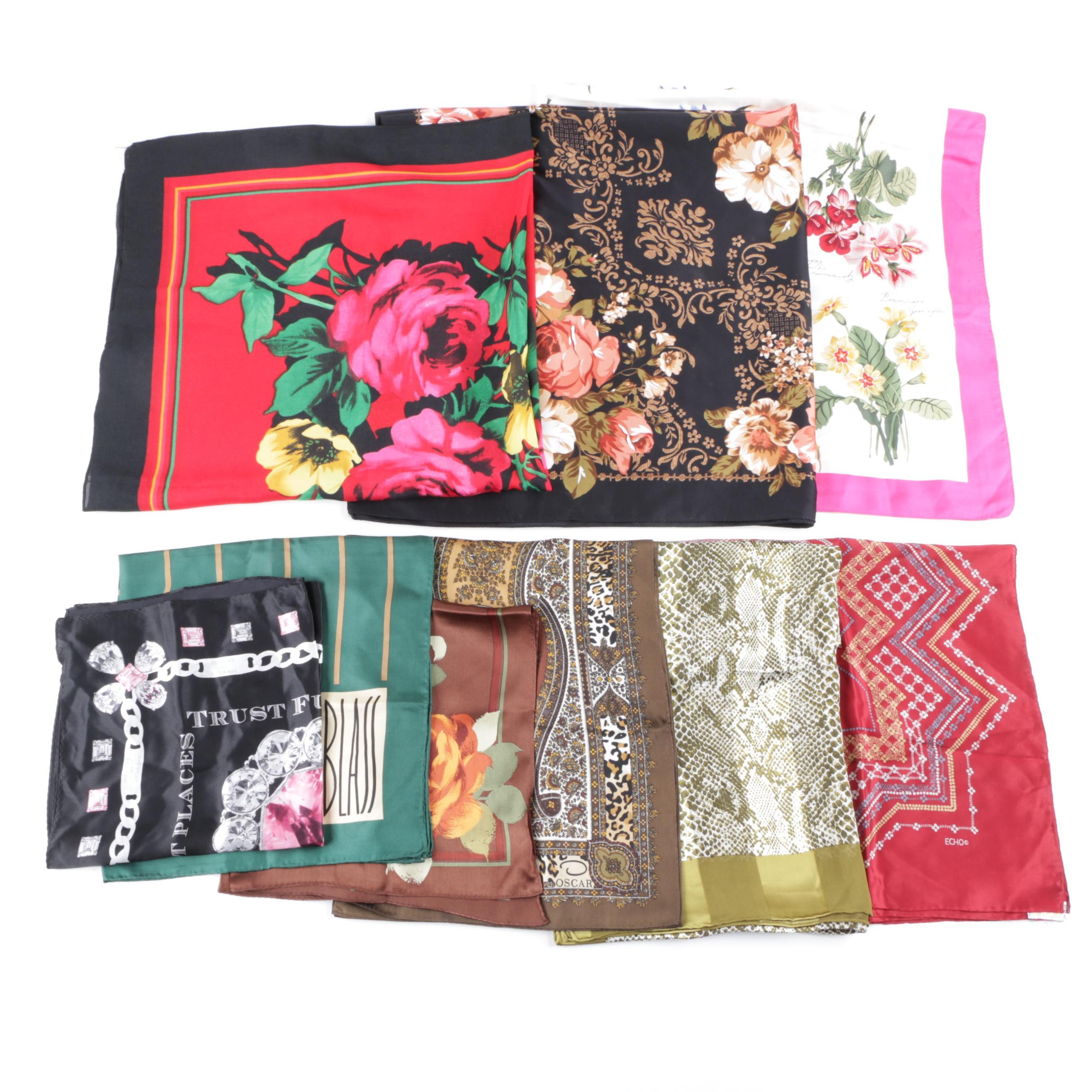 Collection of Scarves Including Echo