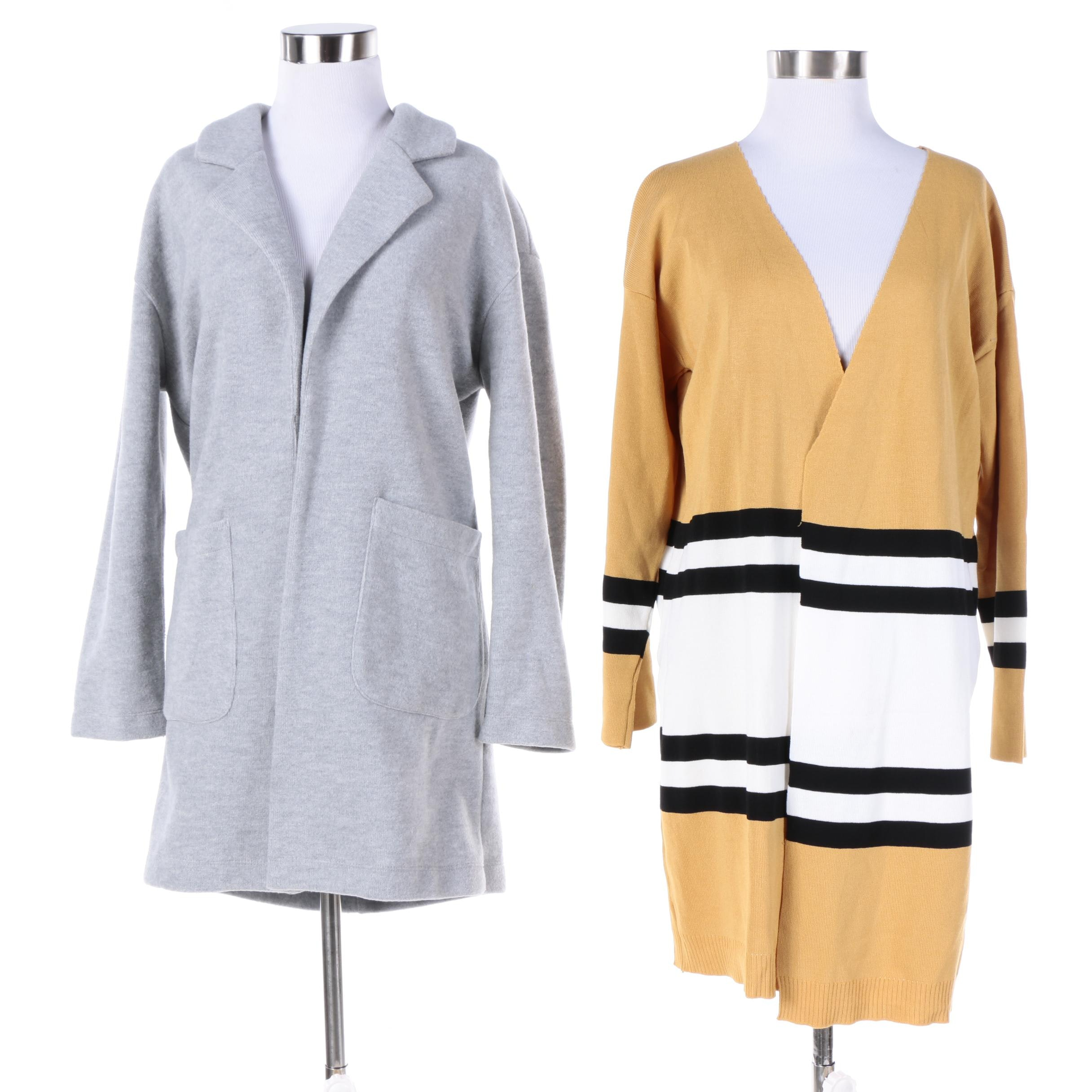 Women's Zara Jacket and Knit Cardigan