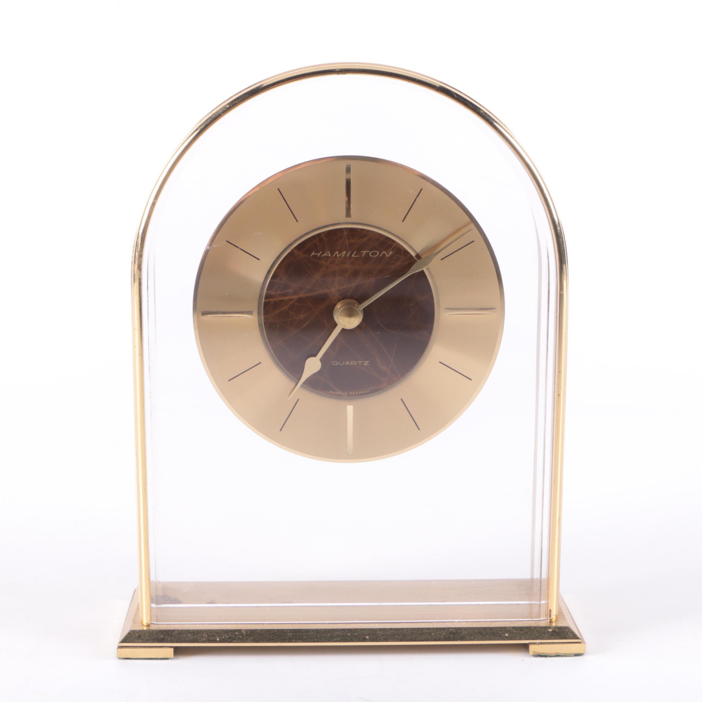 Hamilton German Quartz Mantel Clock