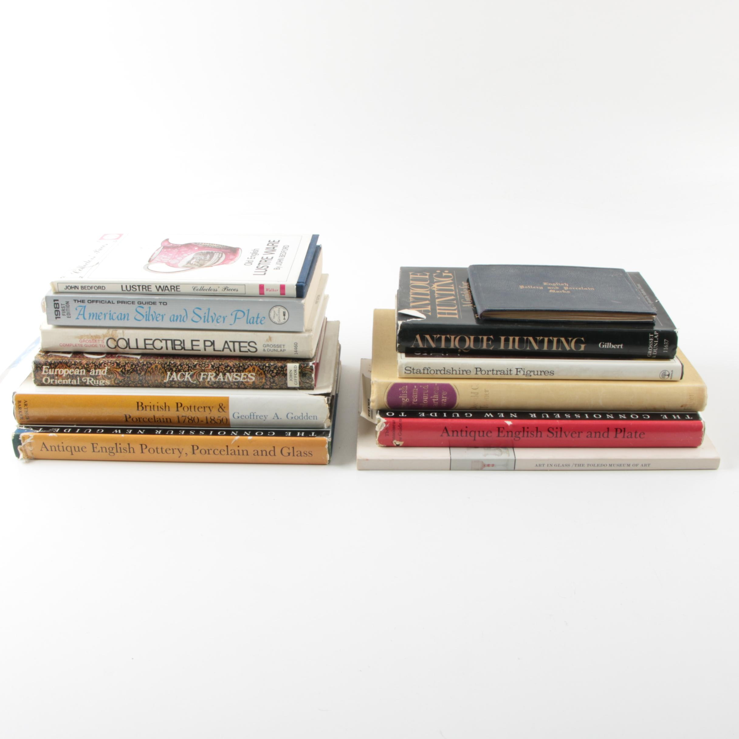 Reference Books on Antiques and More