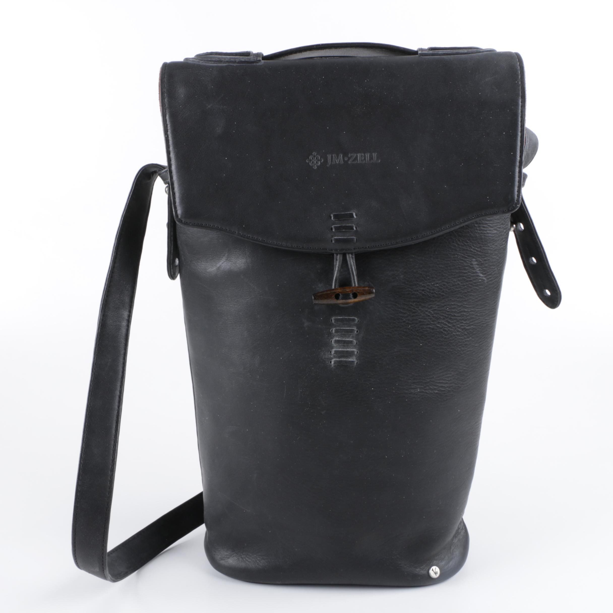 Vinaferro Leather Wine Tote